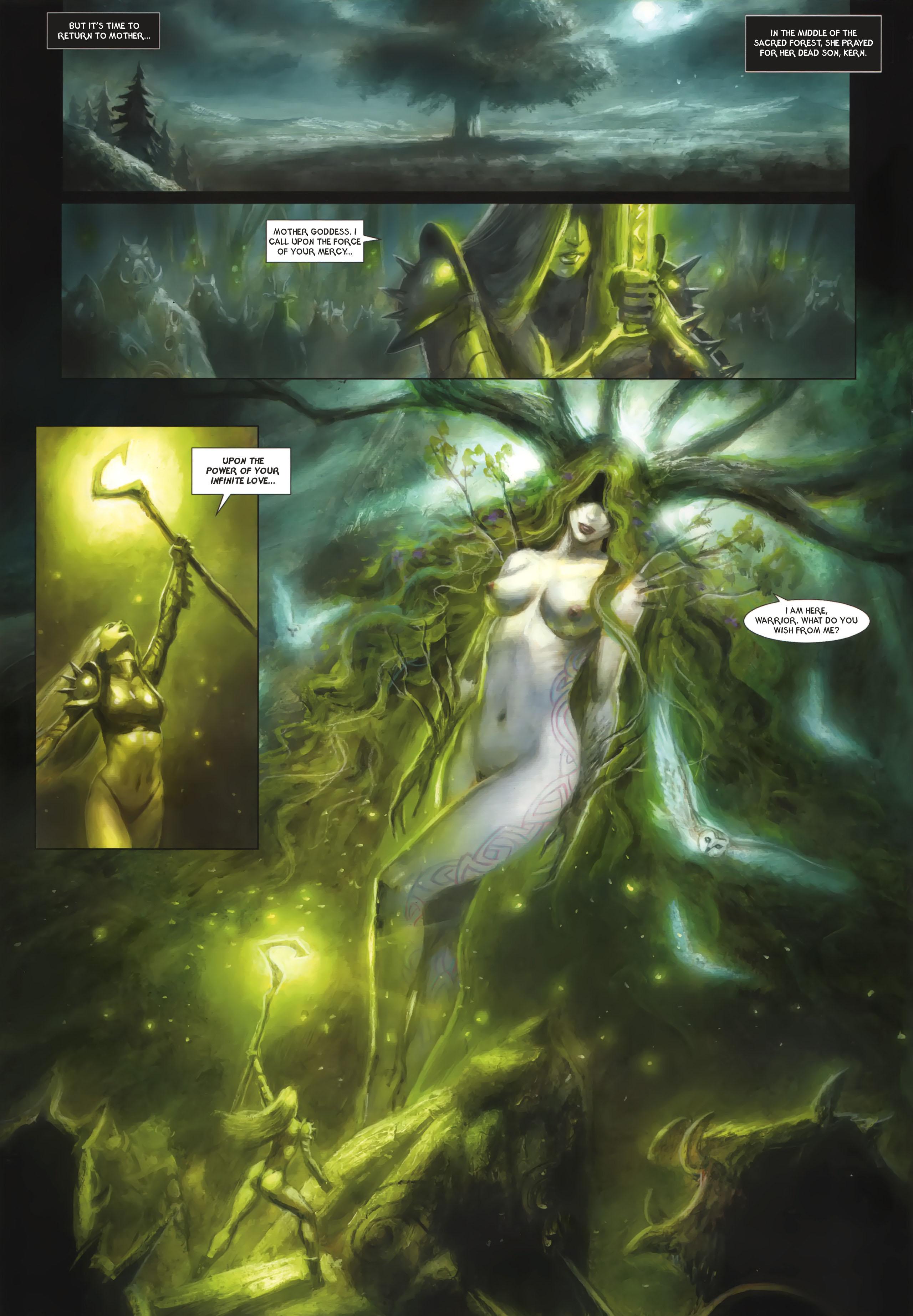 Read online Arawn comic -  Issue #6 - 39