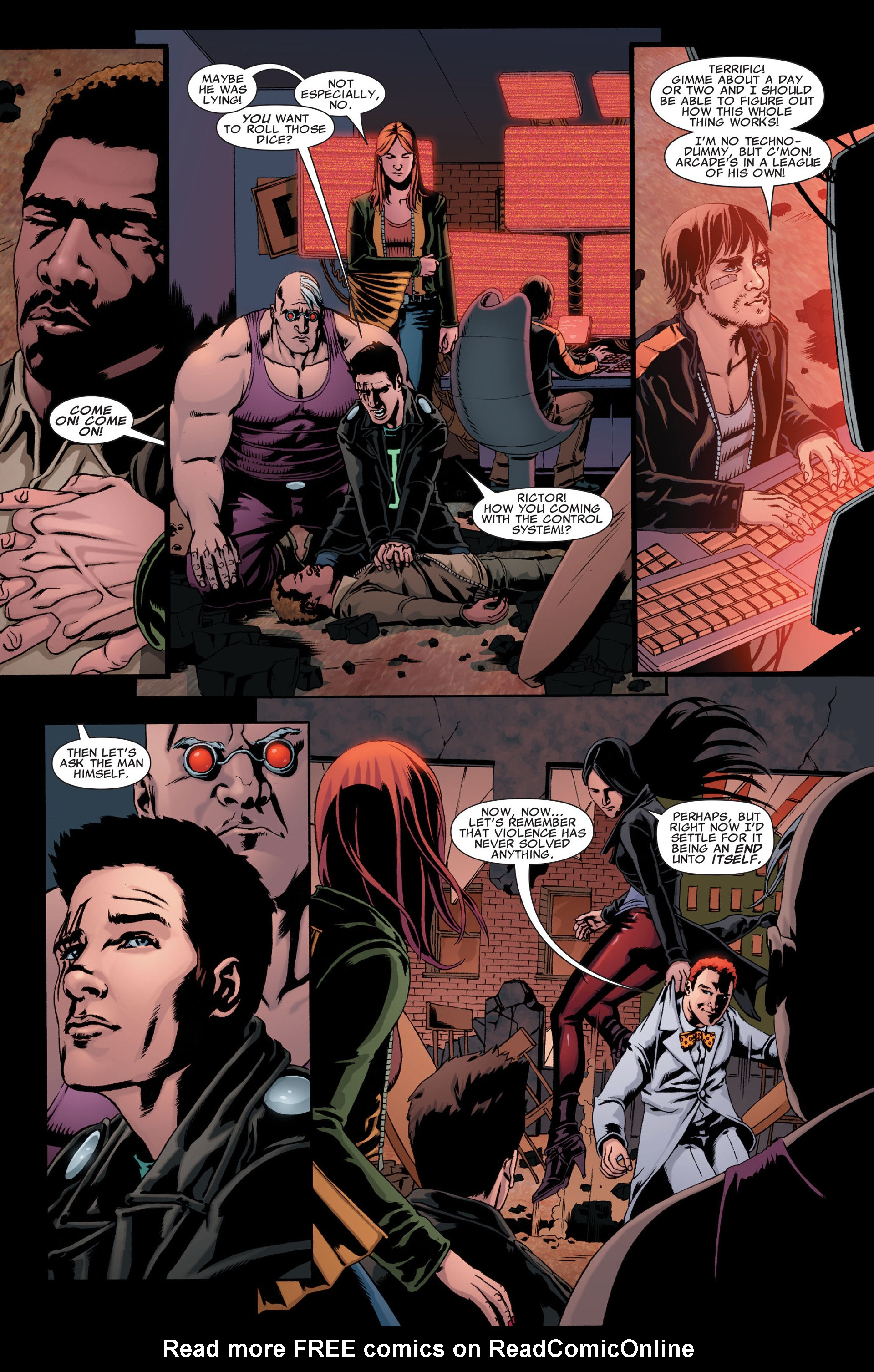 Read online X-Factor (2006) comic -  Issue #31 - 6