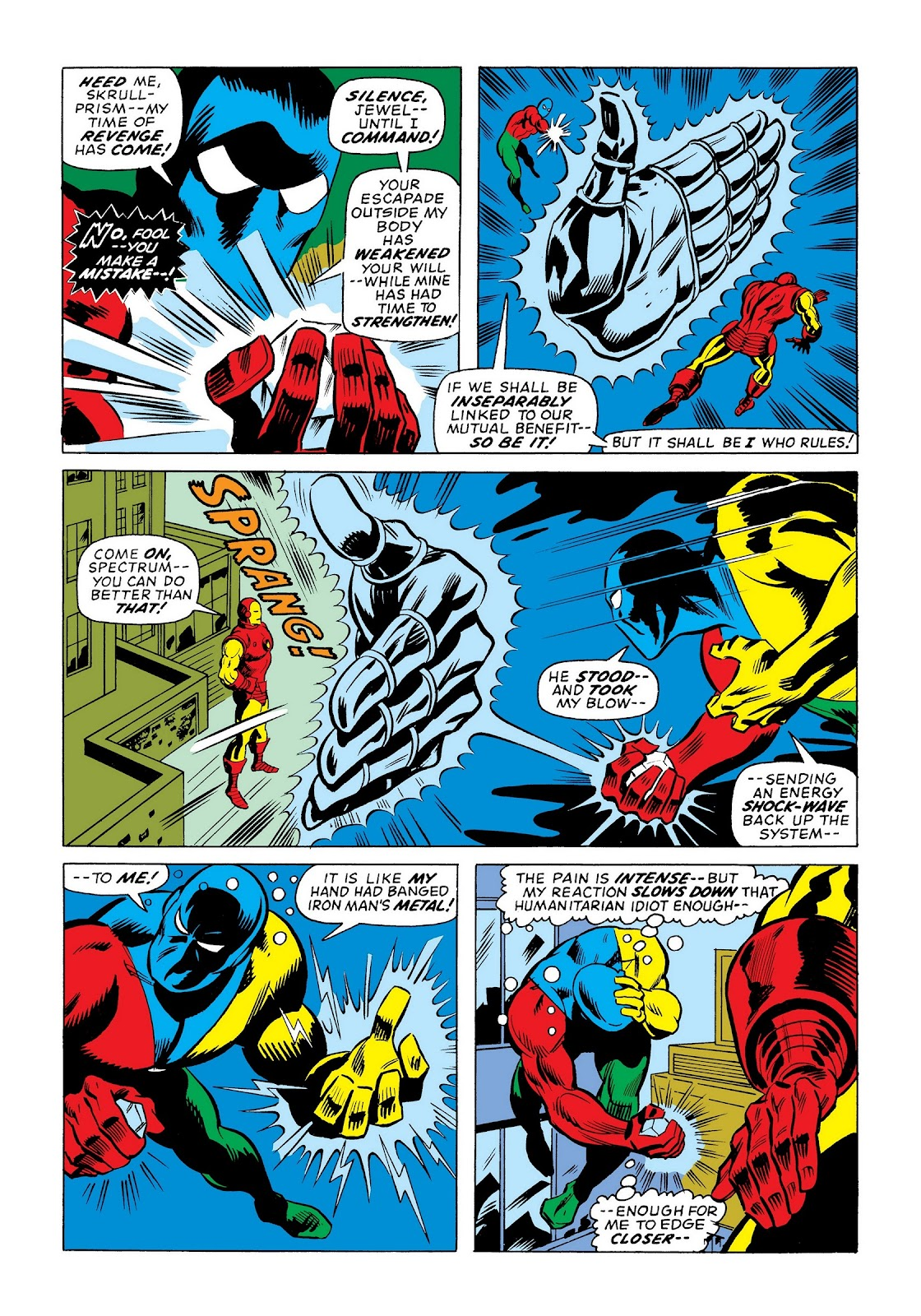 Read online Marvel Masterworks: The Invincible Iron Man comic -  Issue # TPB 9 (Part 3) - 63