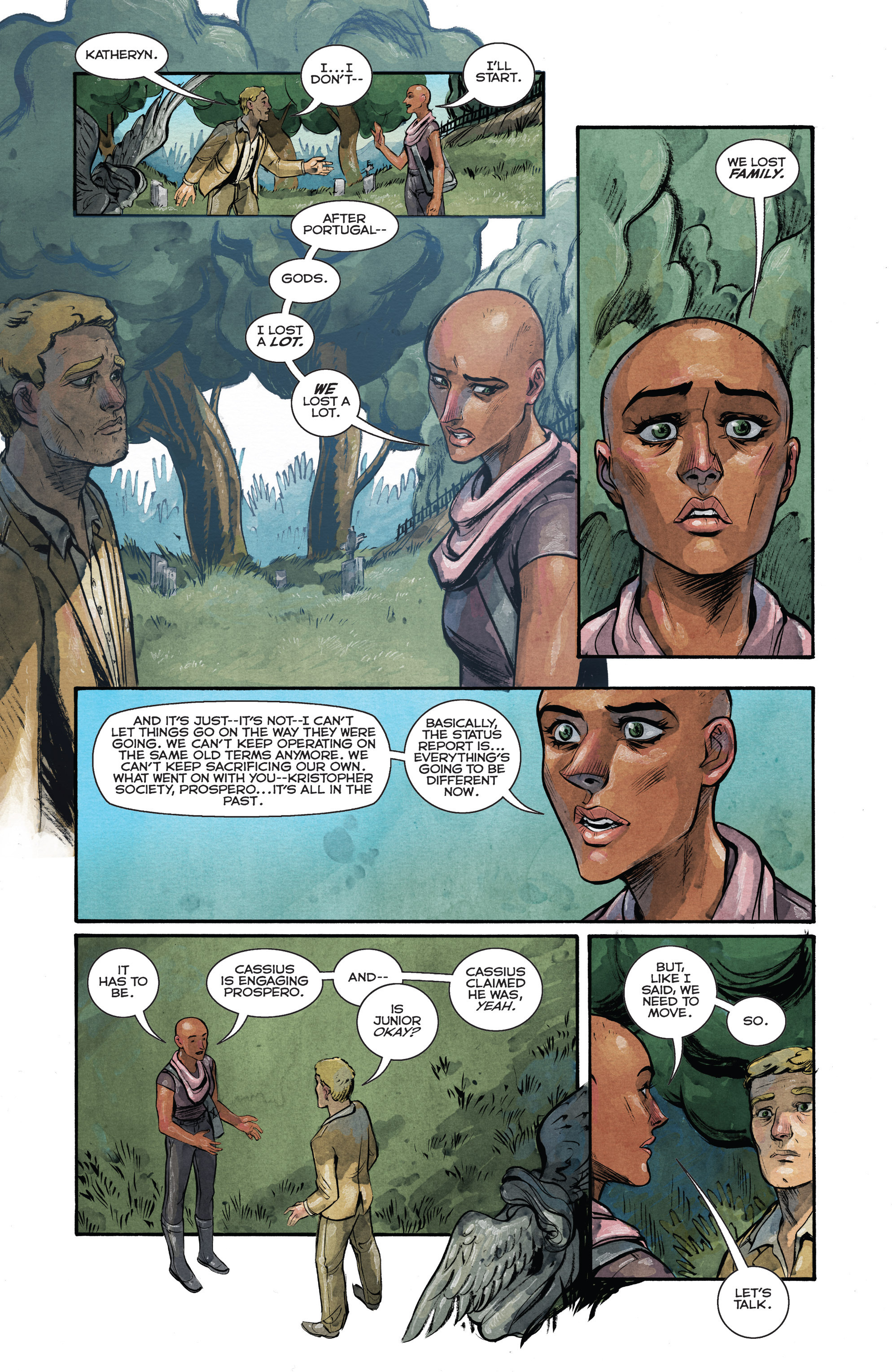Read online Shutter comic -  Issue #23 - 14