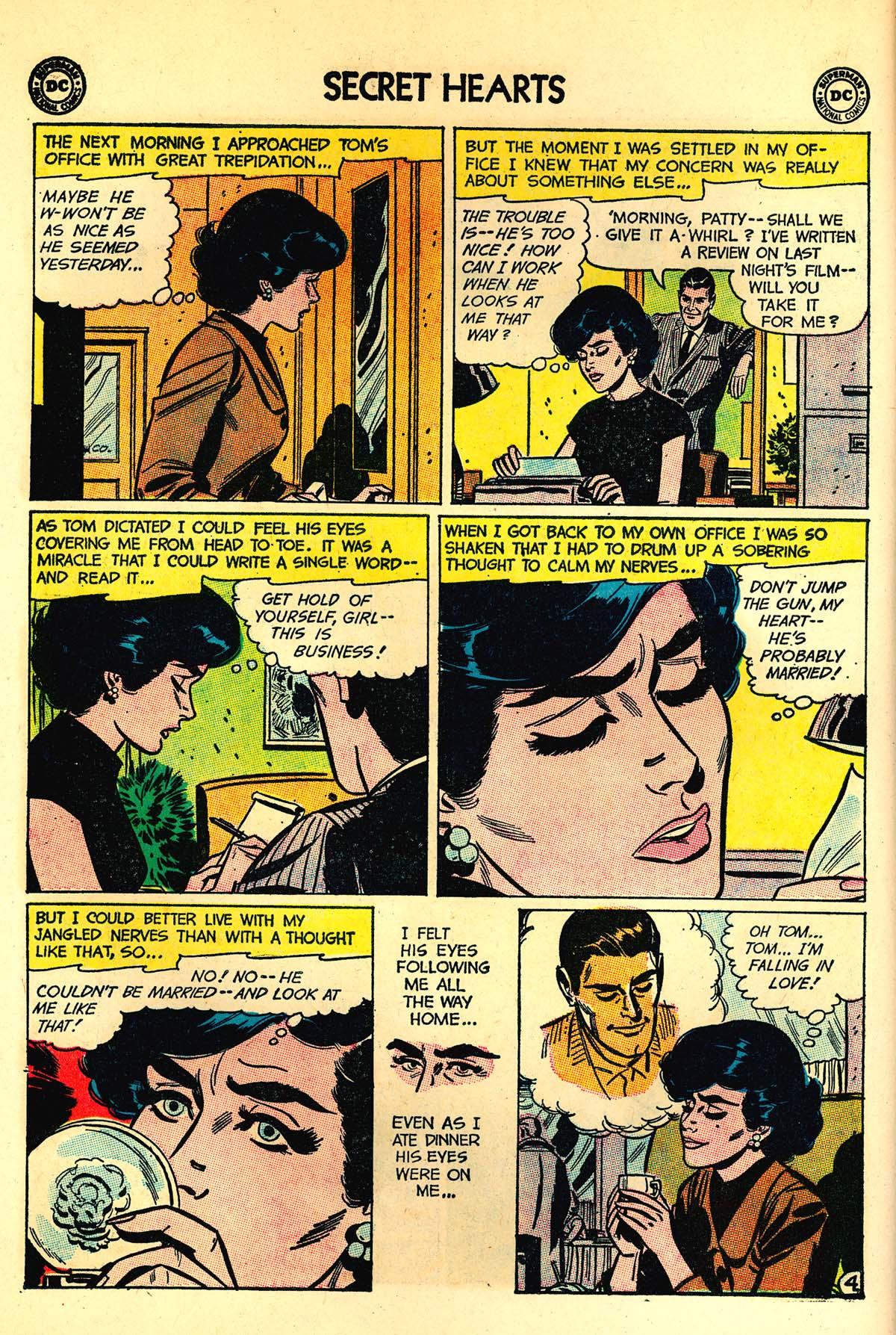 Read online Secret Hearts comic -  Issue #89 - 6