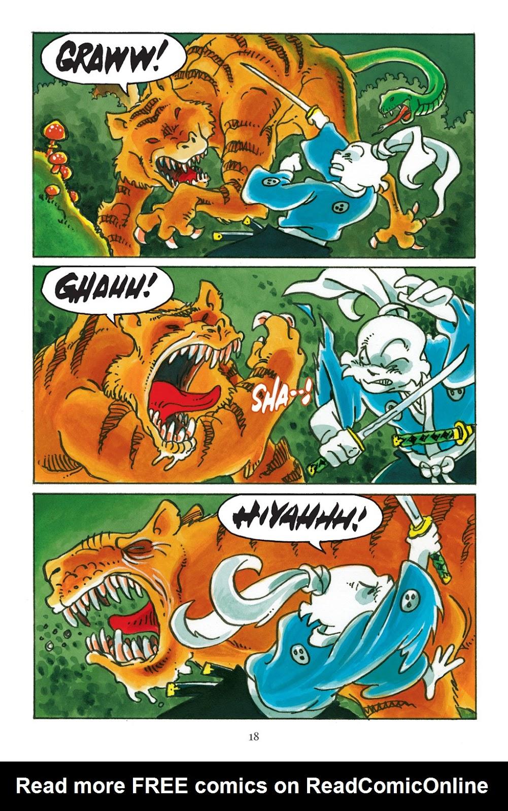 Read online Usagi Yojimbo: Yokai comic -  Issue # Full - 19