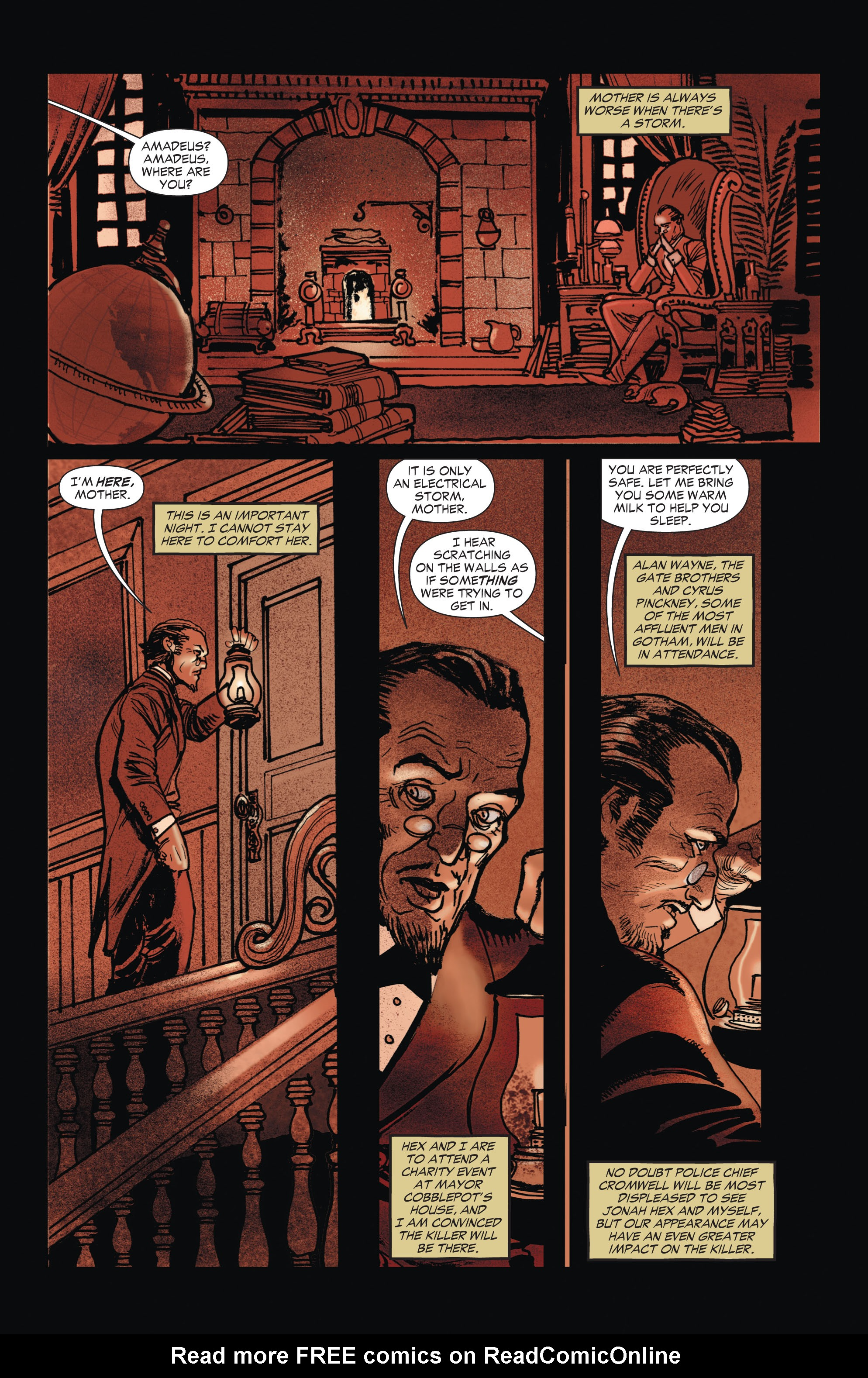 Read online All-Star Western (2011) comic -  Issue #1 - 25