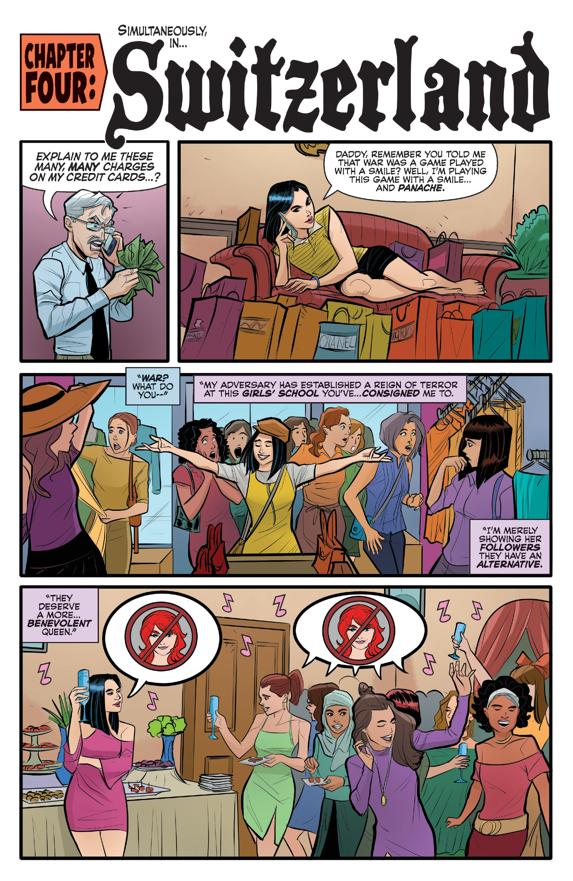 Read online Archie (2015) comic -  Issue #14 - 16