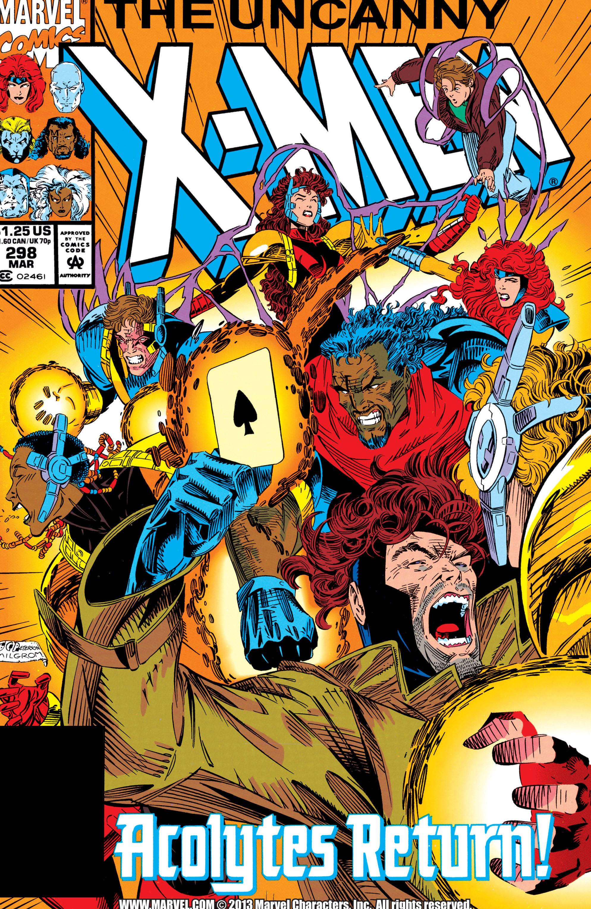 Read online Uncanny X-Men (1963) comic -  Issue #298 - 1