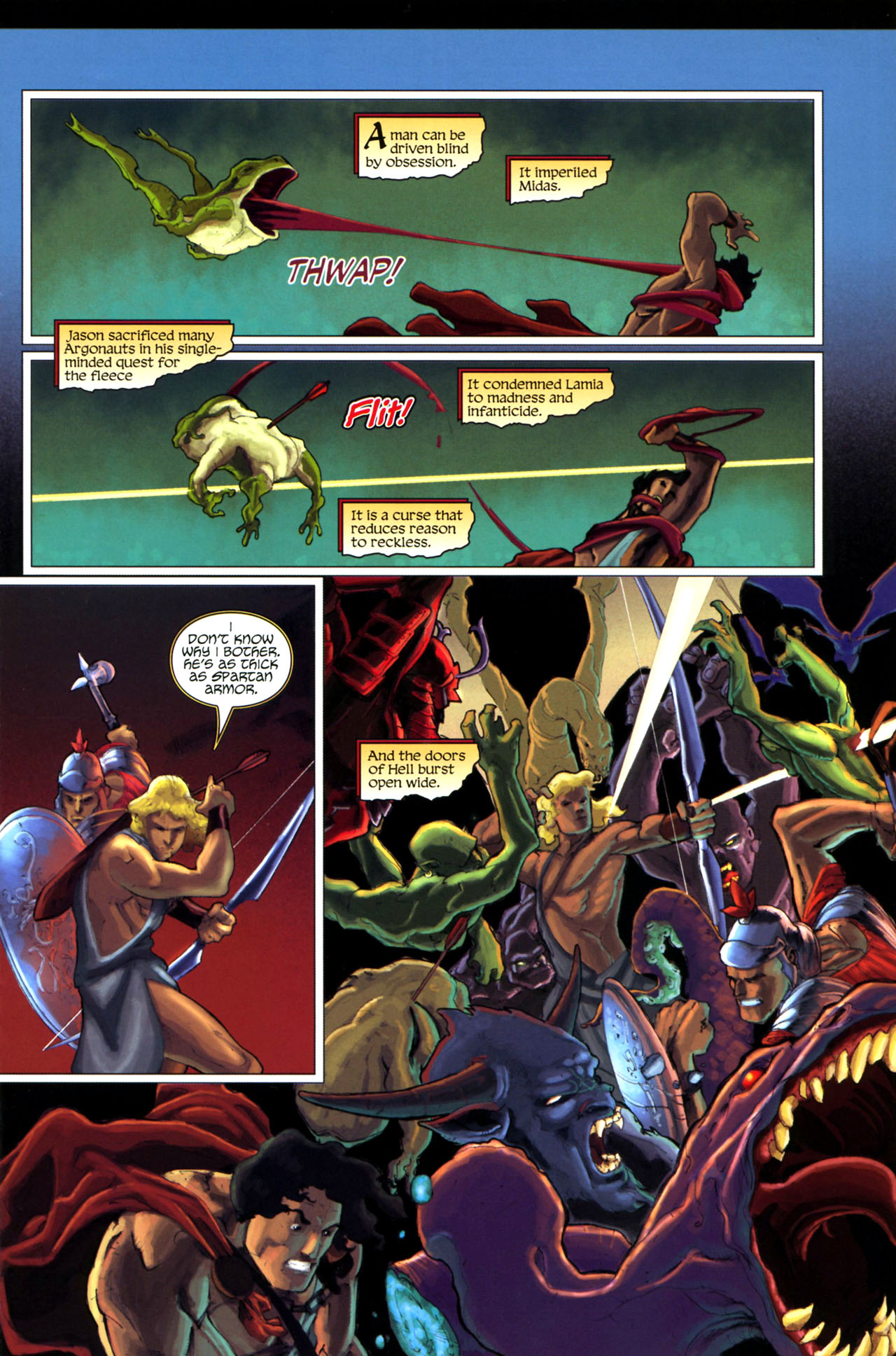 Read online Wrath of the Titans comic -  Issue #3 - 13