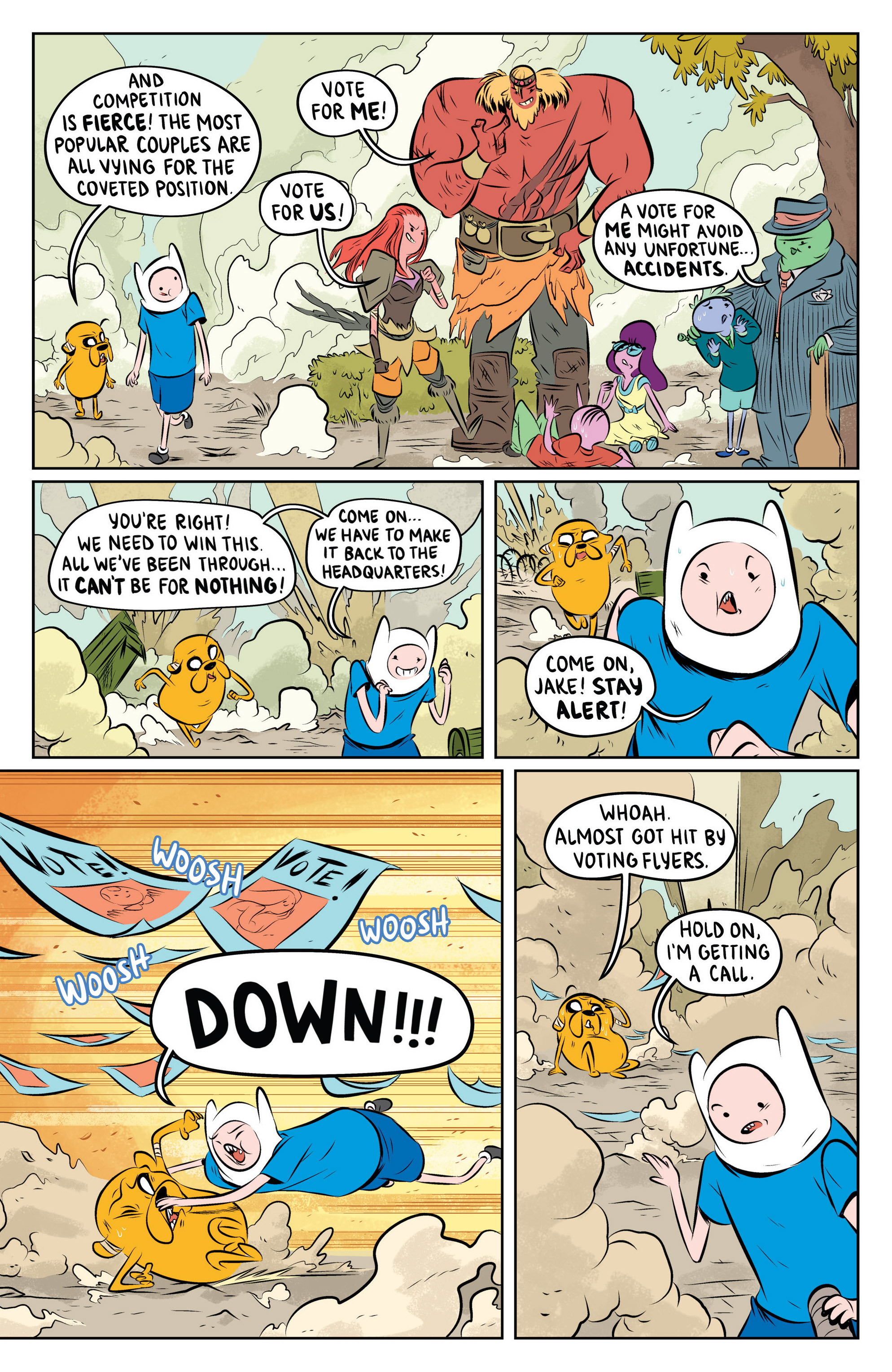 Read online Adventure Time: The Flip Side comic -  Issue #4 - 11