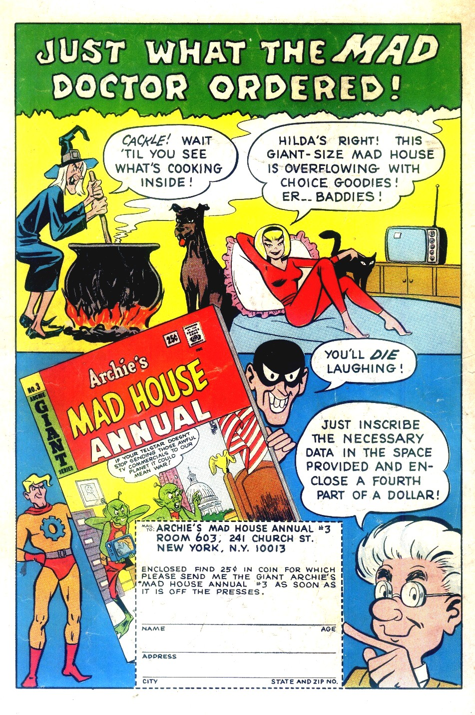 Archie's Madhouse issue 42 - Page 36