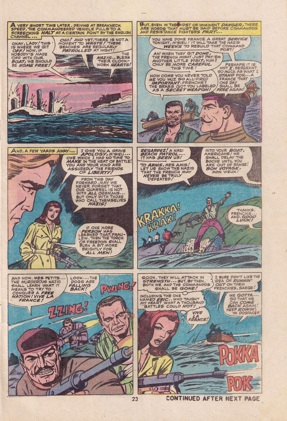 Read online Sgt. Fury comic -  Issue #113 - 25