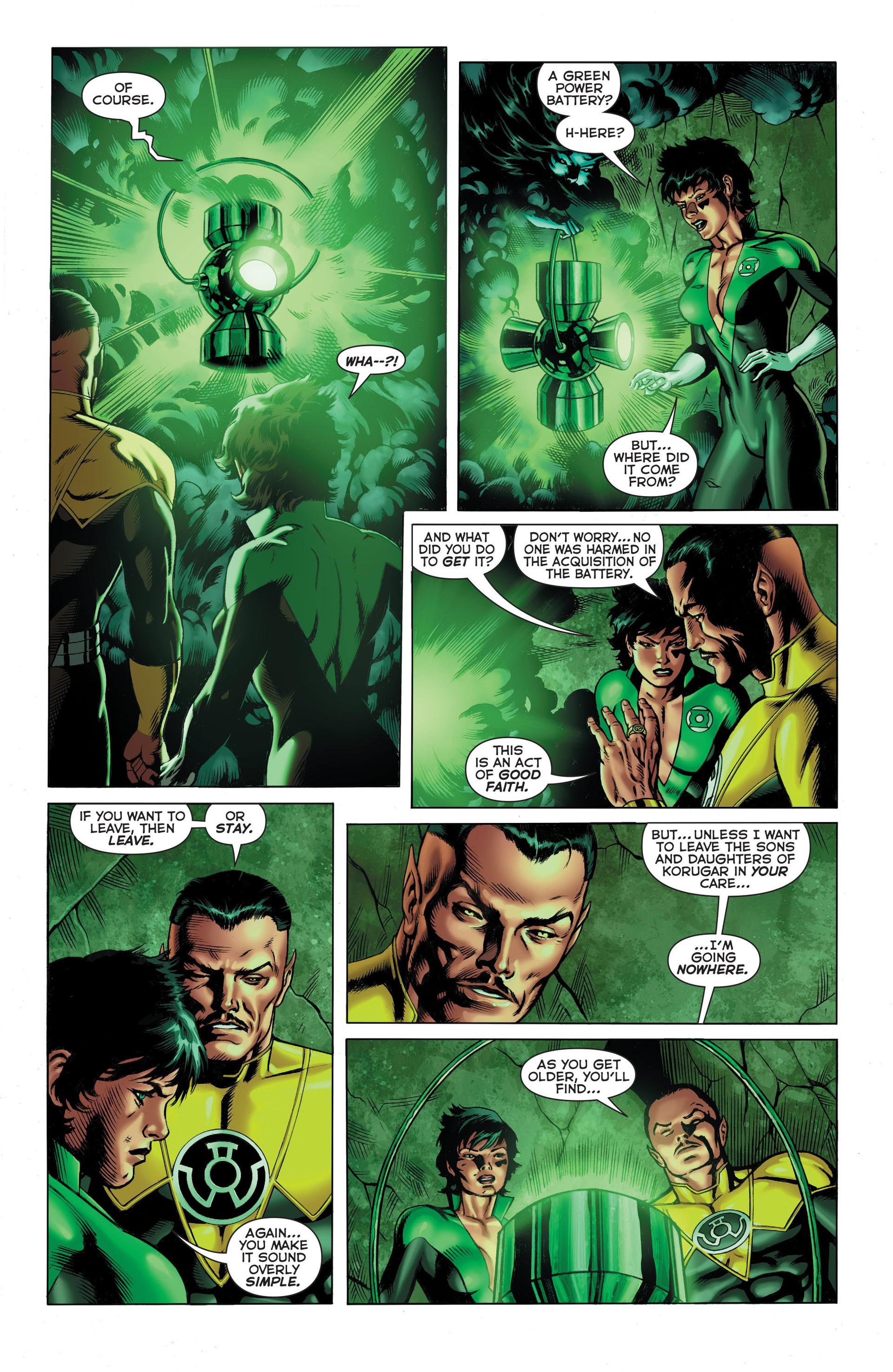 Read online Sinestro comic -  Issue #3 - 10