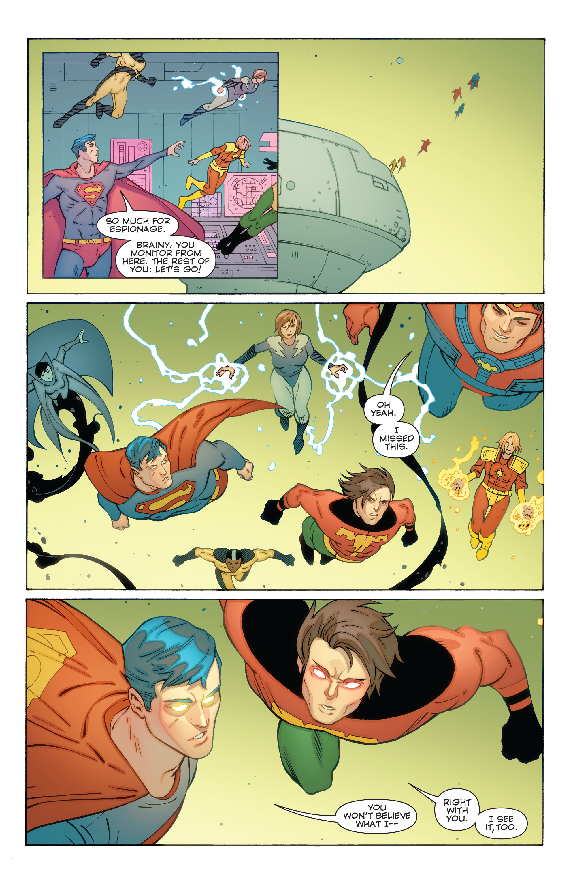 Read online Convergence Superboy and the Legion of Super-Heroes comic -  Issue #1 - 22