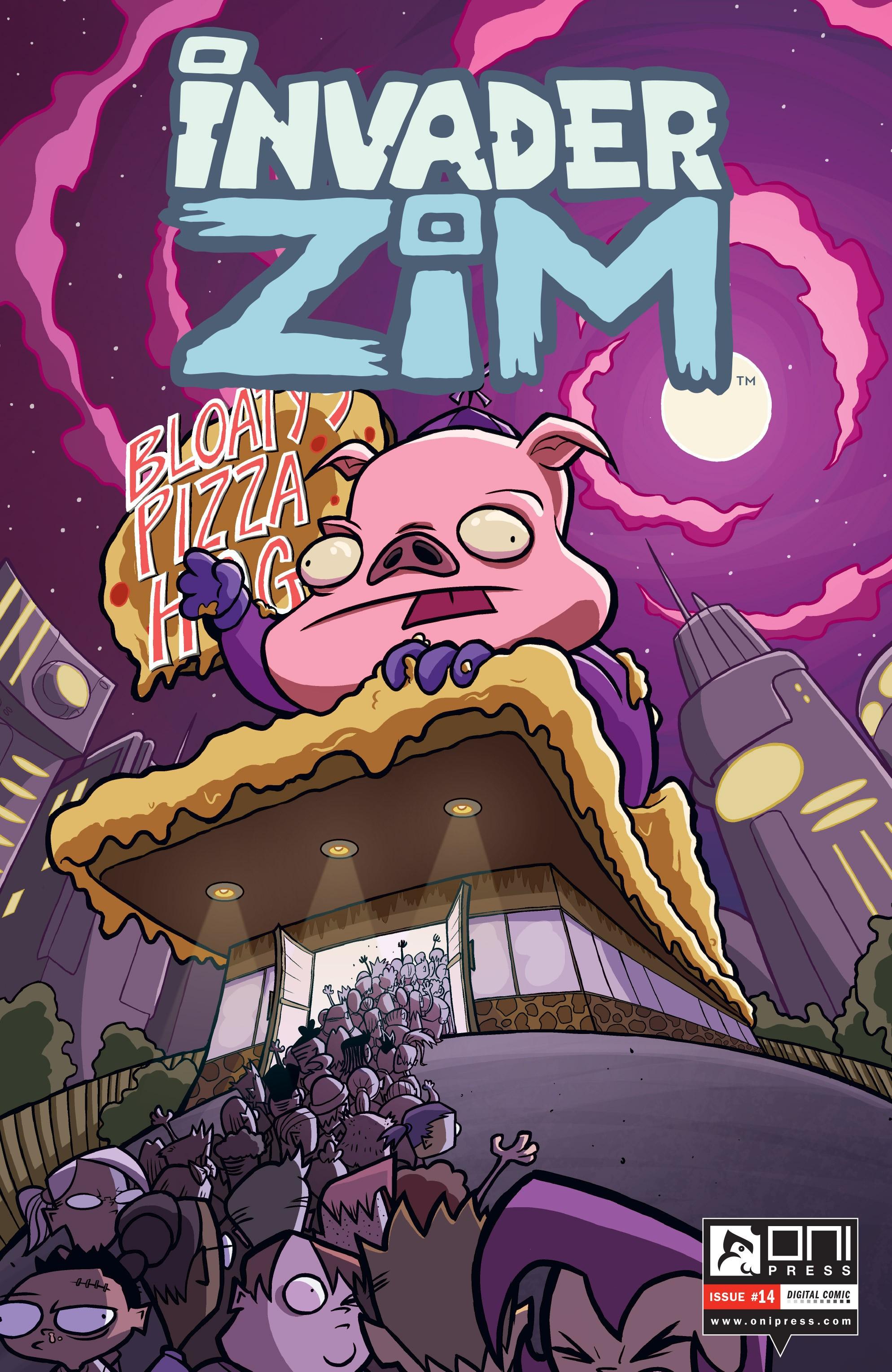 Invader Zim 14 Page 1