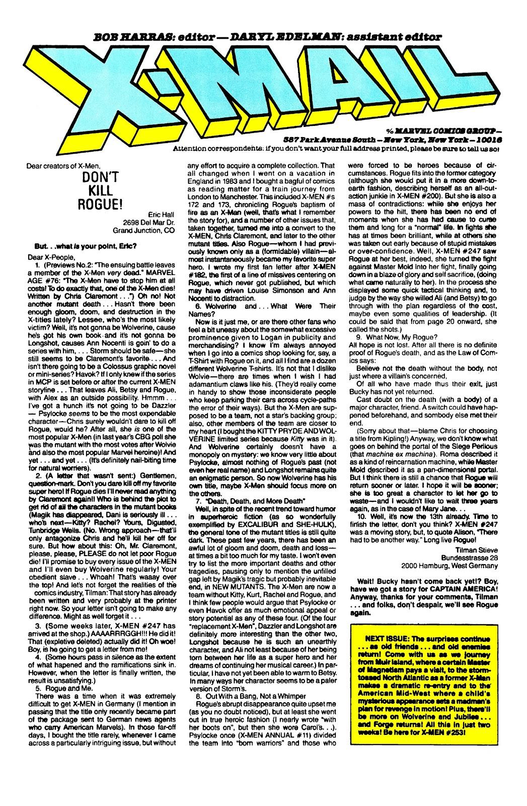 Uncanny X-Men (1963) issue 252 - Page 25