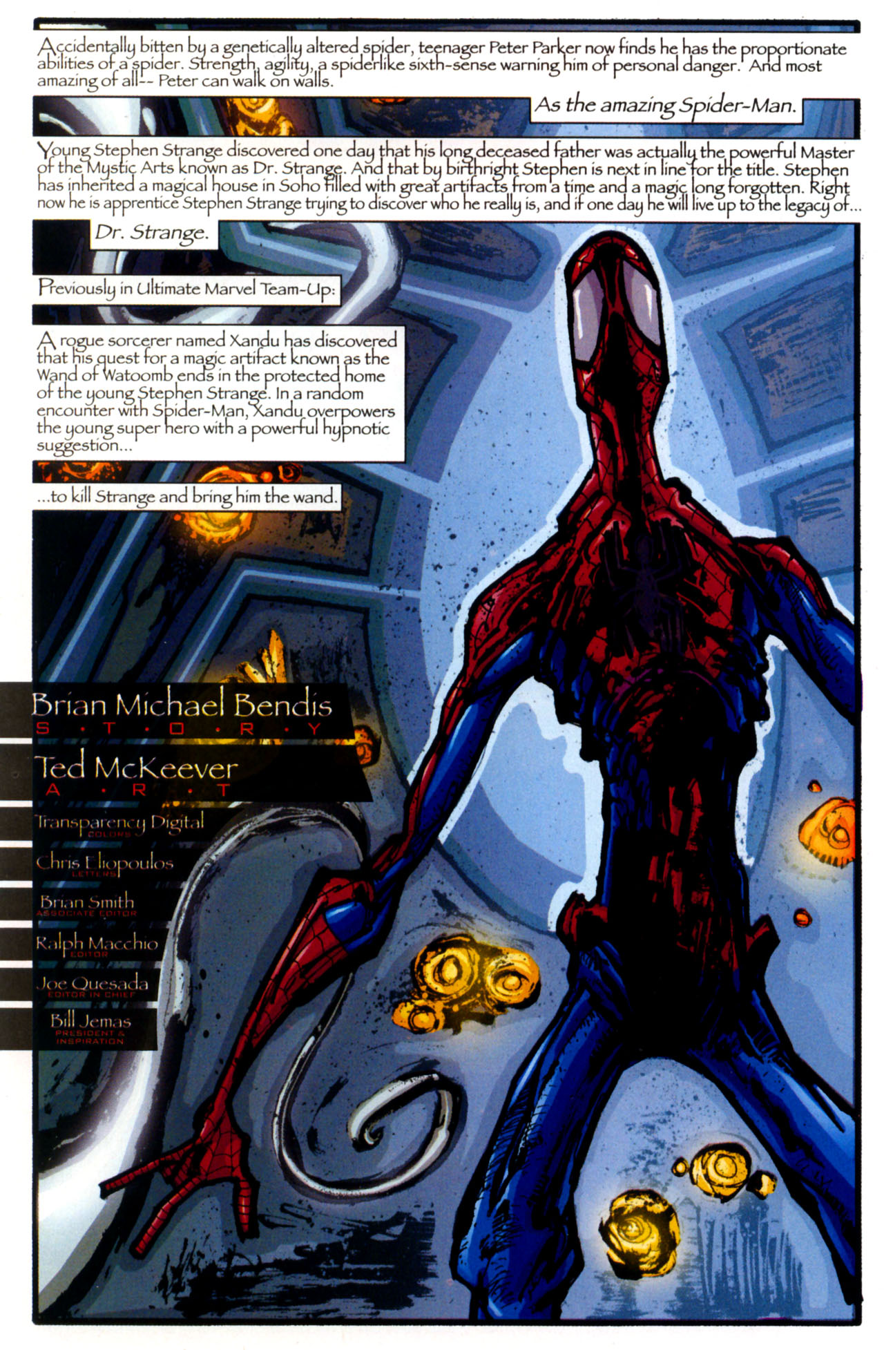 Read online Ultimate Marvel Team-Up comic -  Issue #13 - 12