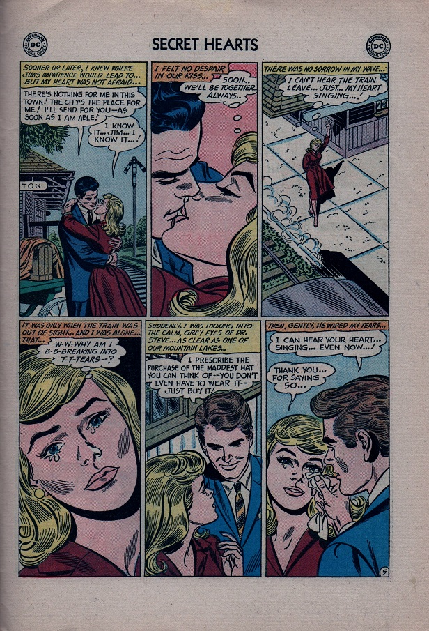 Read online Secret Hearts comic -  Issue #79 - 31
