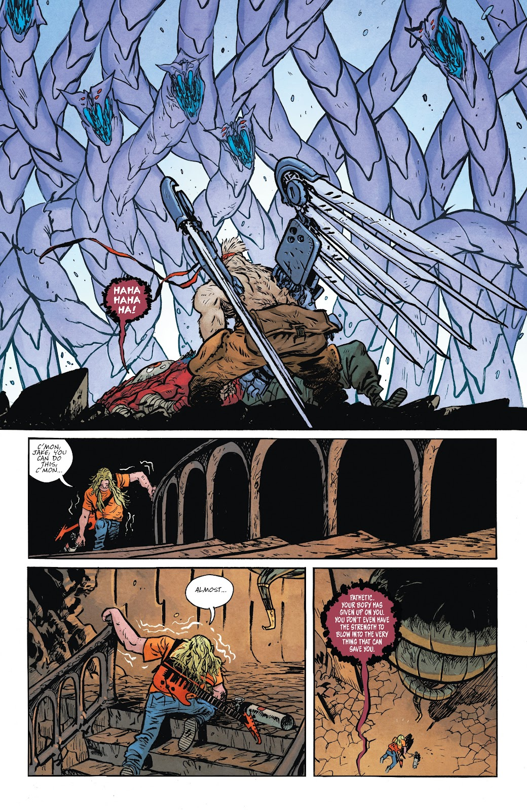 Read online Murder Falcon comic -  Issue #8 - 13