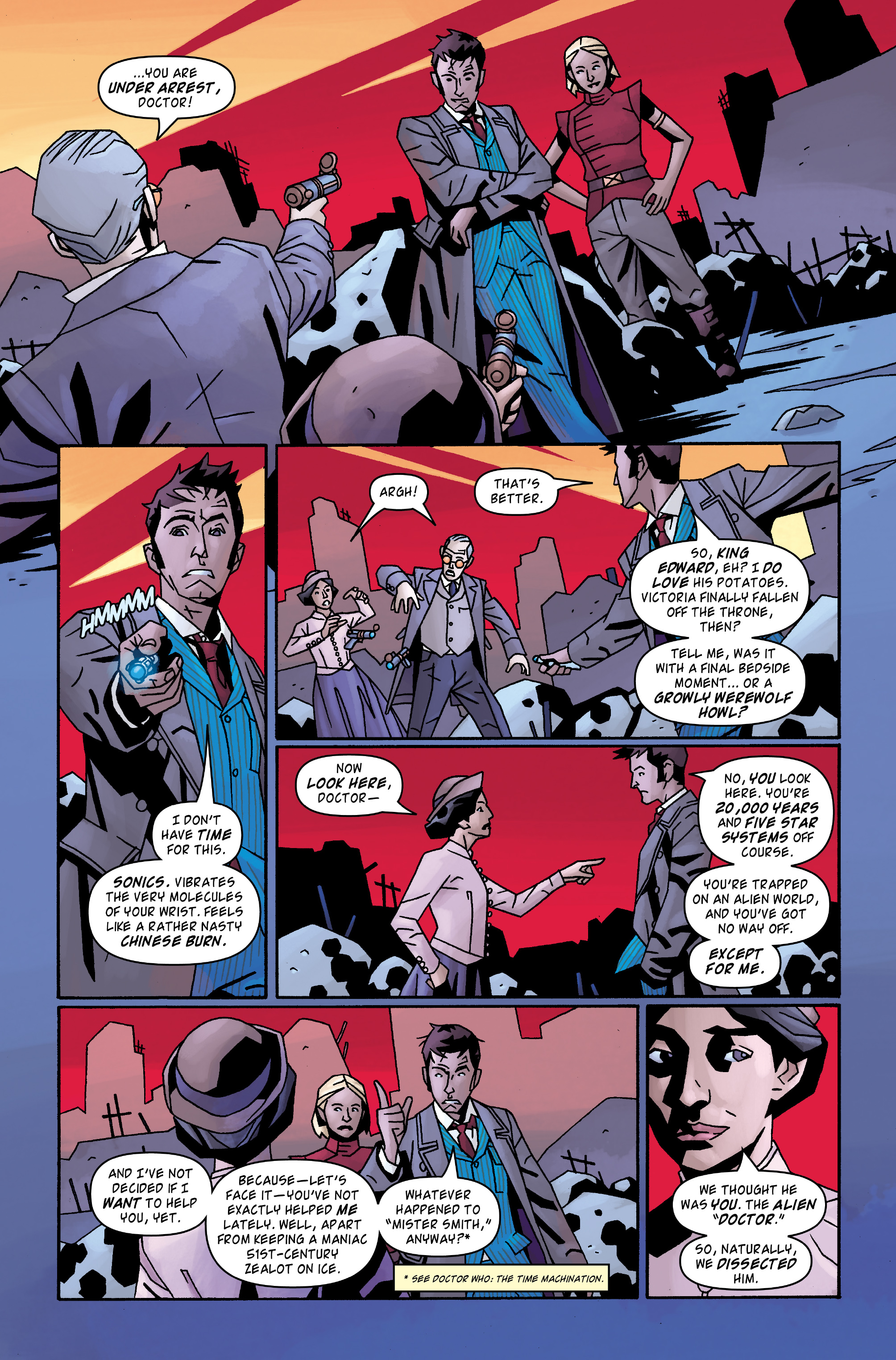 Read online Doctor Who: The Tenth Doctor Archives comic -  Issue #31 - 10