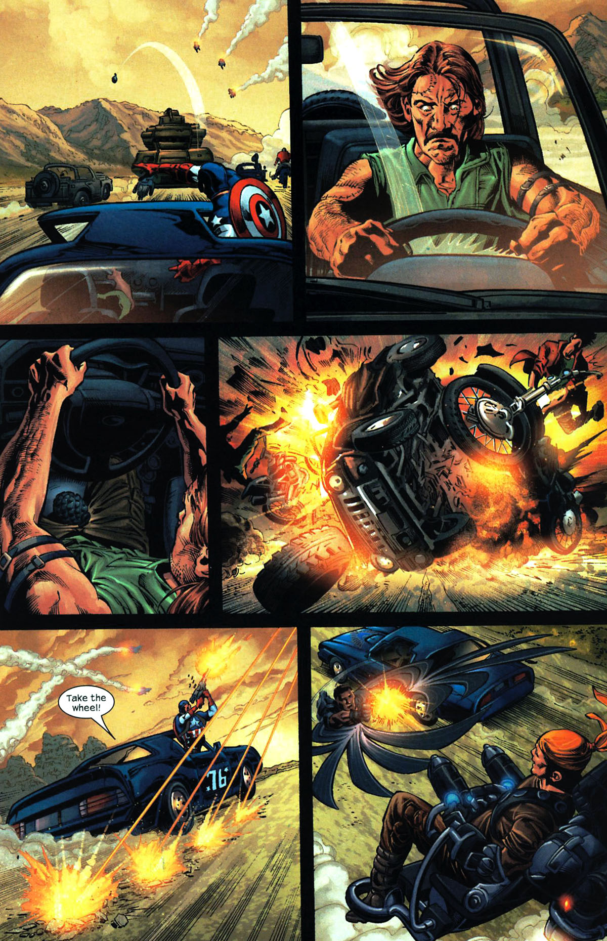 Read online Ultimates 2 comic -  Issue # _Annual 2 - 25