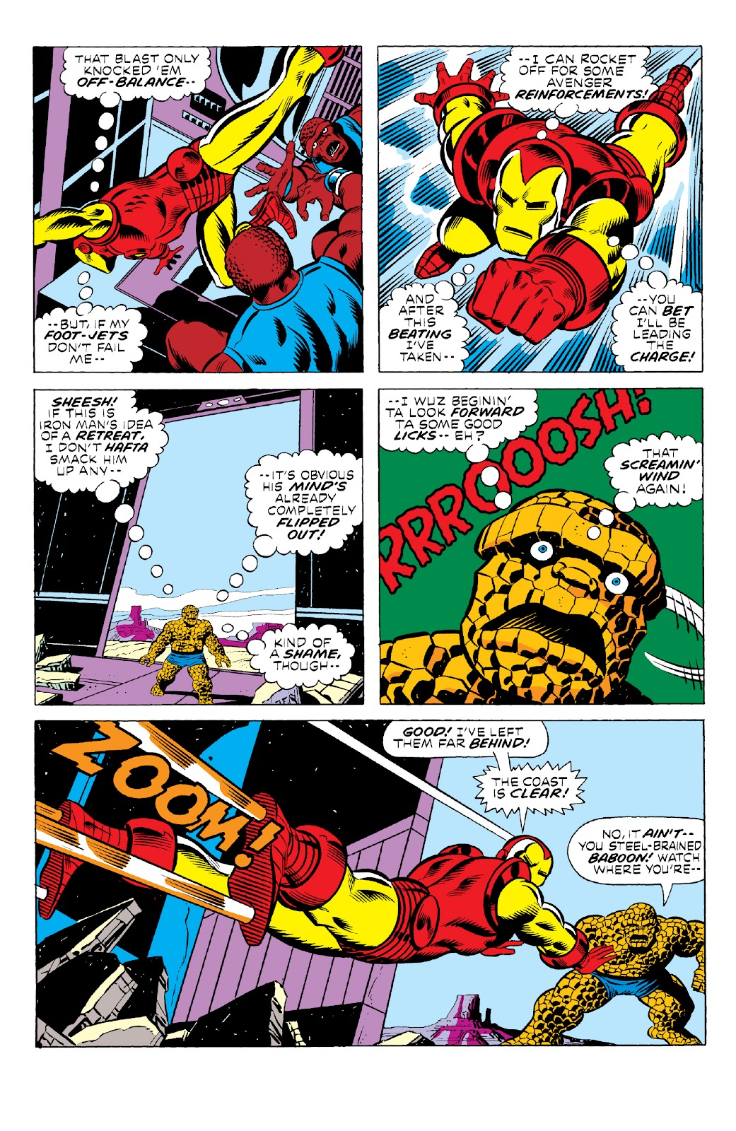 Read online Marvel Two-In-One Epic Collection: Cry Monster comic -  Issue # TPB (Part 1) - 33