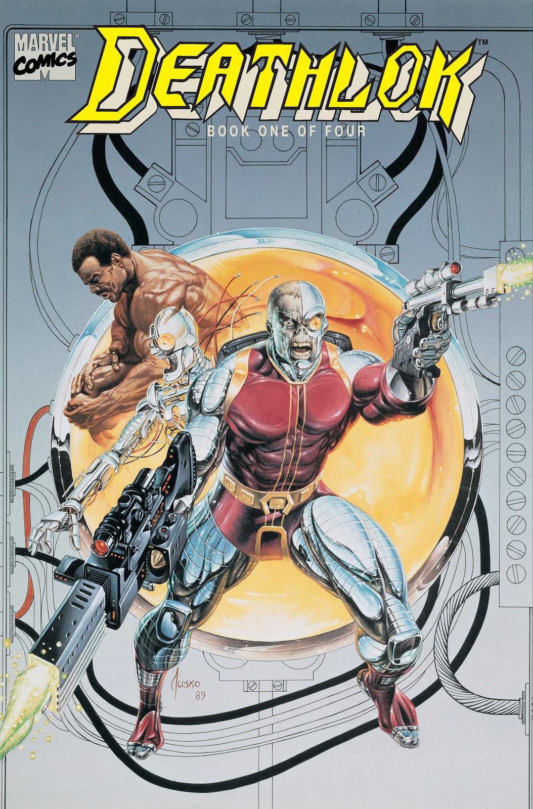 Deathlok (1990) issue 1 - Page 1