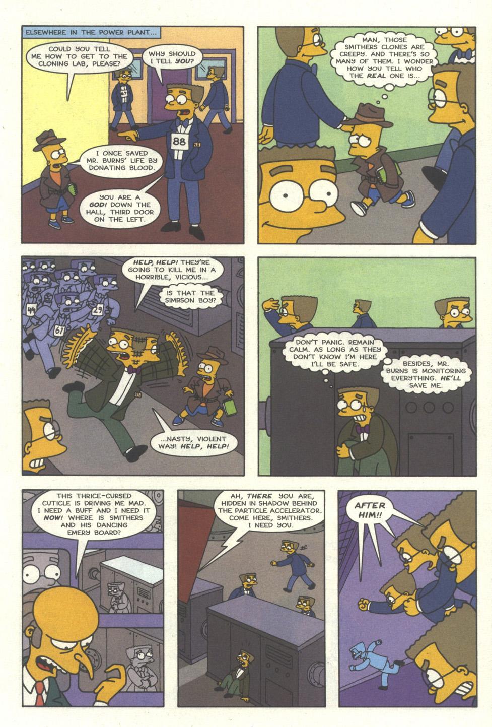 Read online Simpsons Comics comic -  Issue #30 - 10