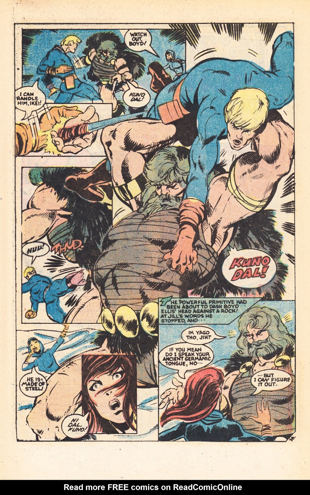 Read online Doomsday   1 (1975) comic -  Issue #7 - 24