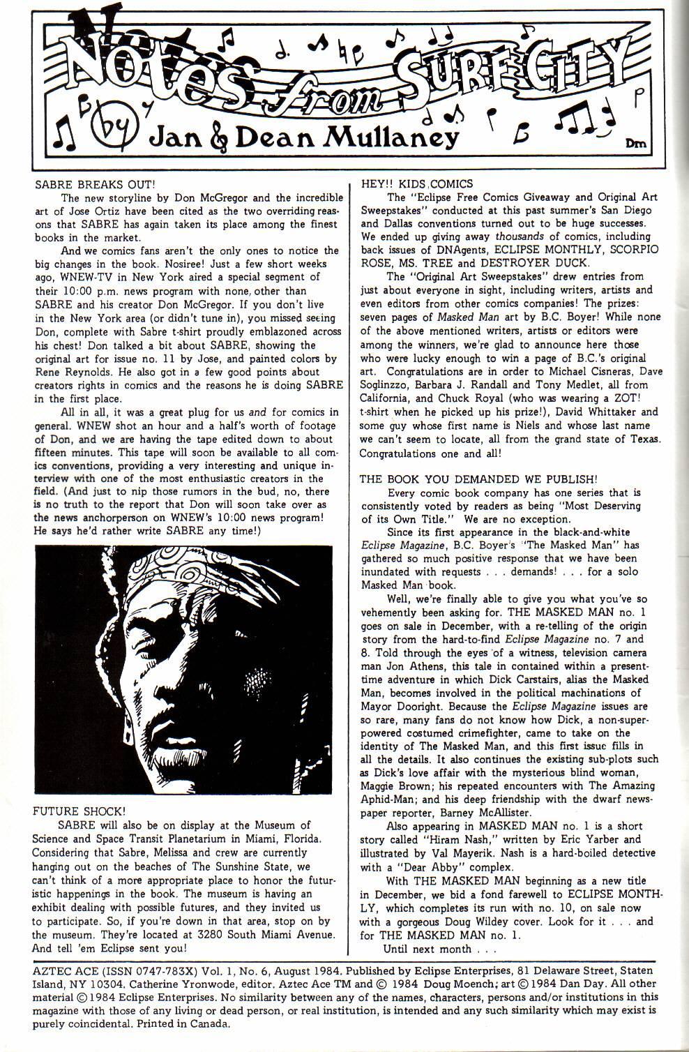 Aztec Ace 6 Page 2