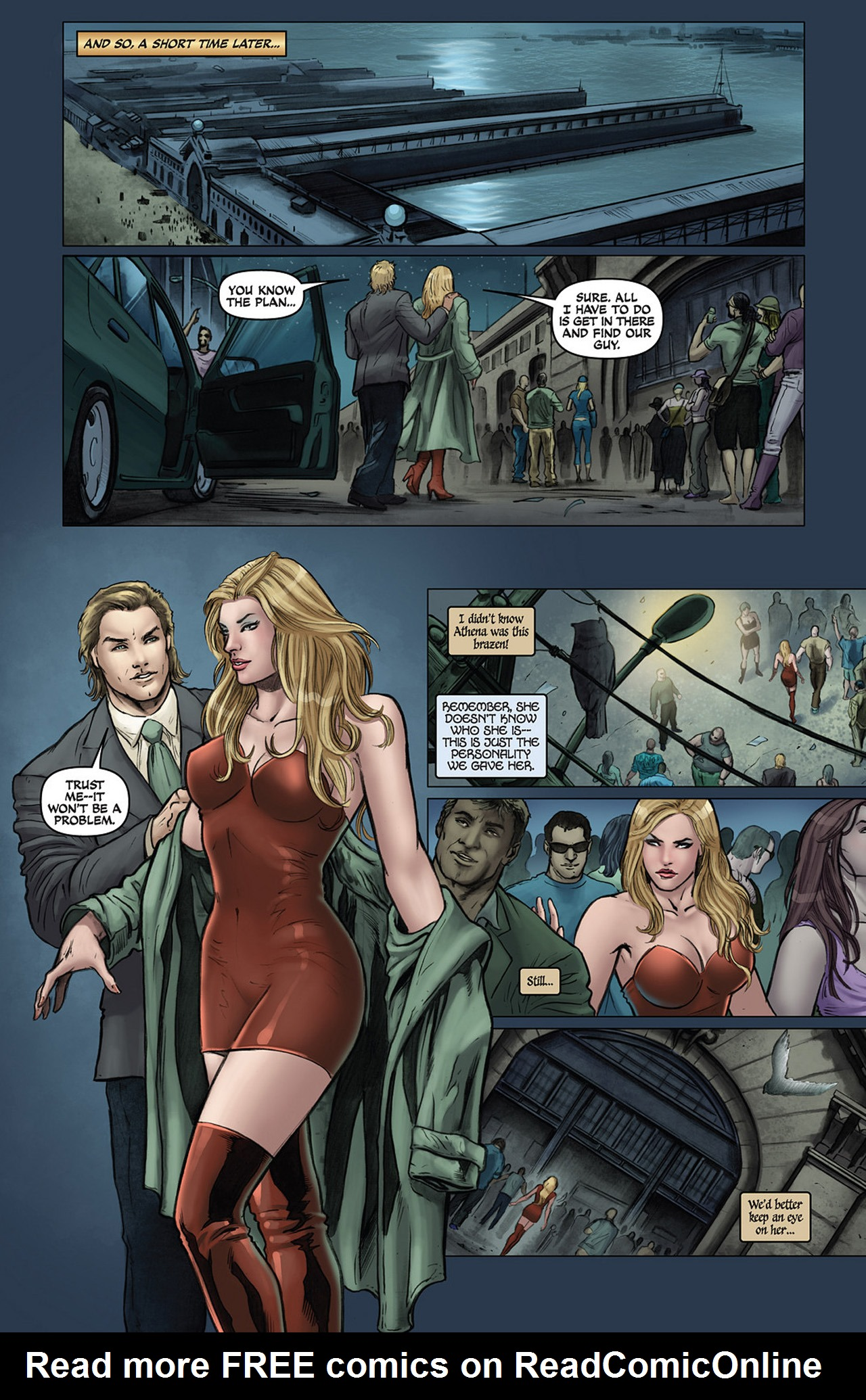 Read online Athena comic -  Issue #1 - 19