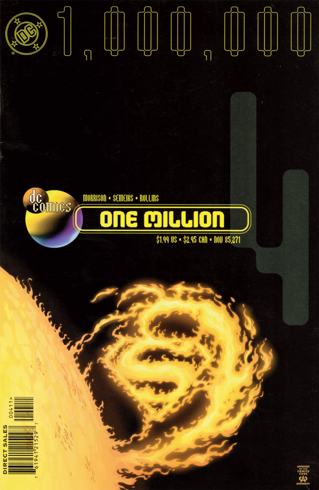 DC One Million (1998) 4 Page 1