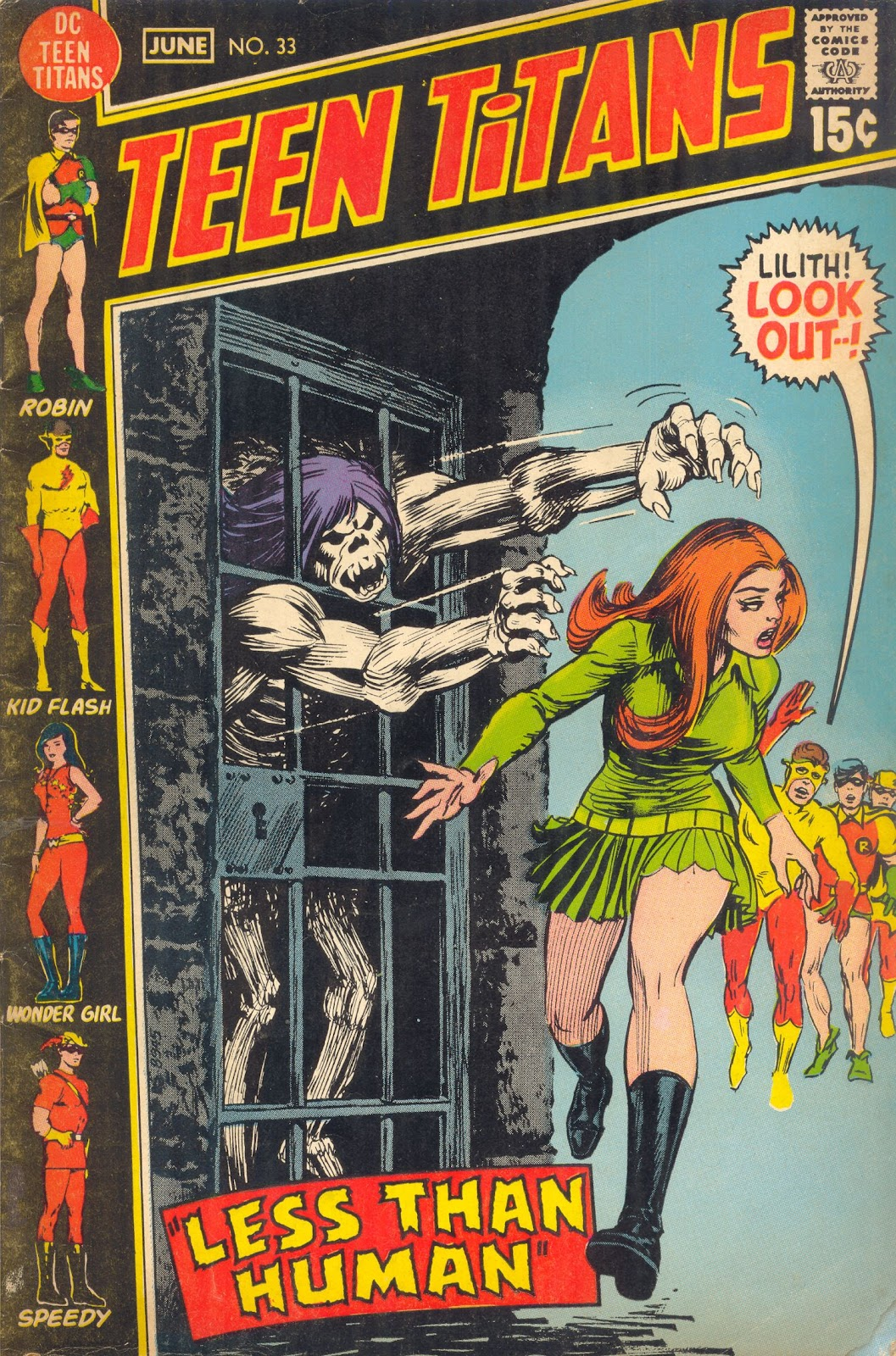 Teen Titans (1966) issue 33 - Page 1