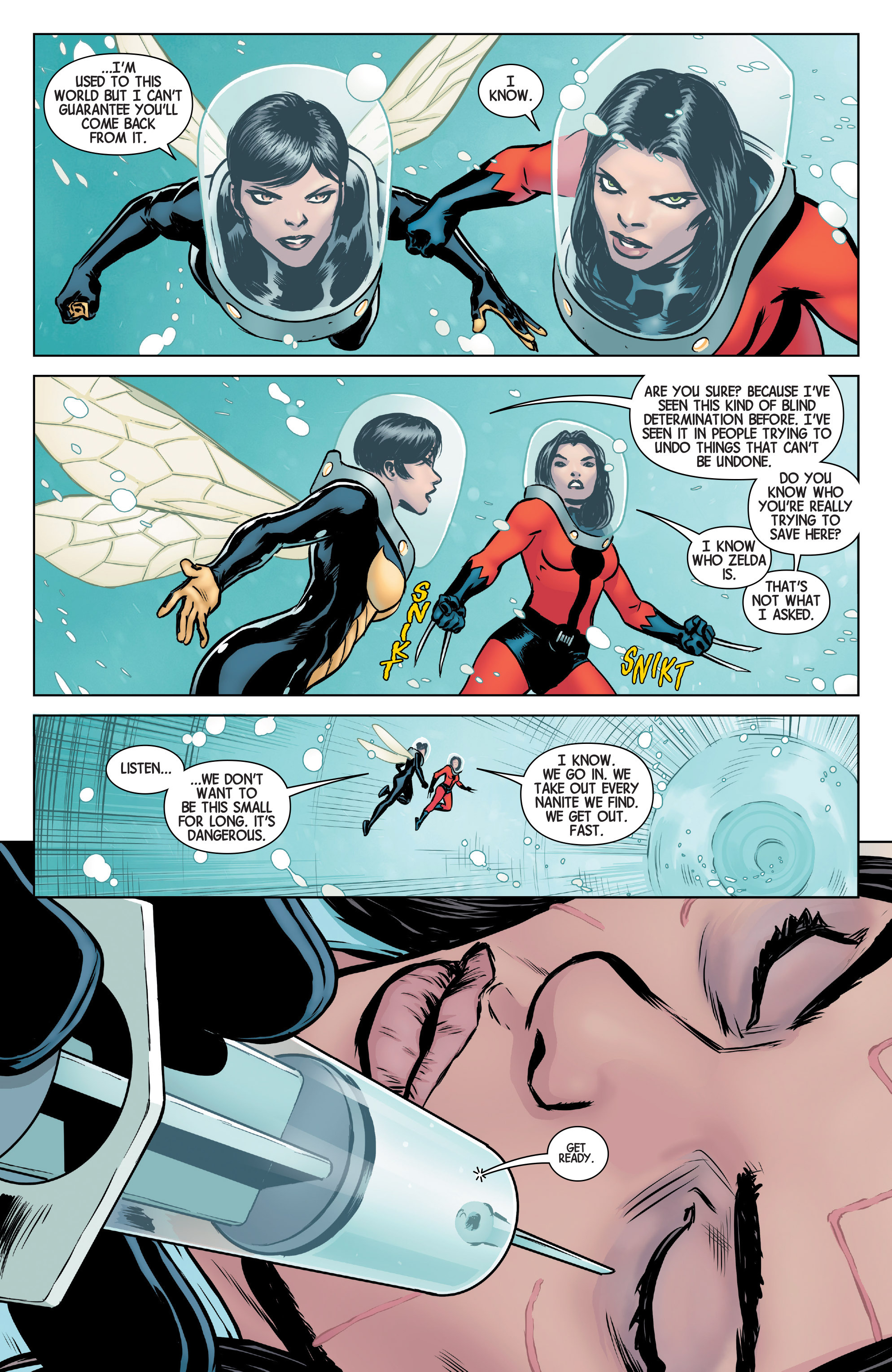 Read online All-New Wolverine (2016) comic -  Issue #5 - 7