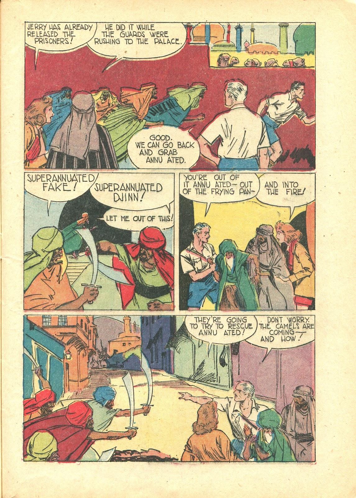 Read online Super-Magician Comics comic -  Issue #21 - 15