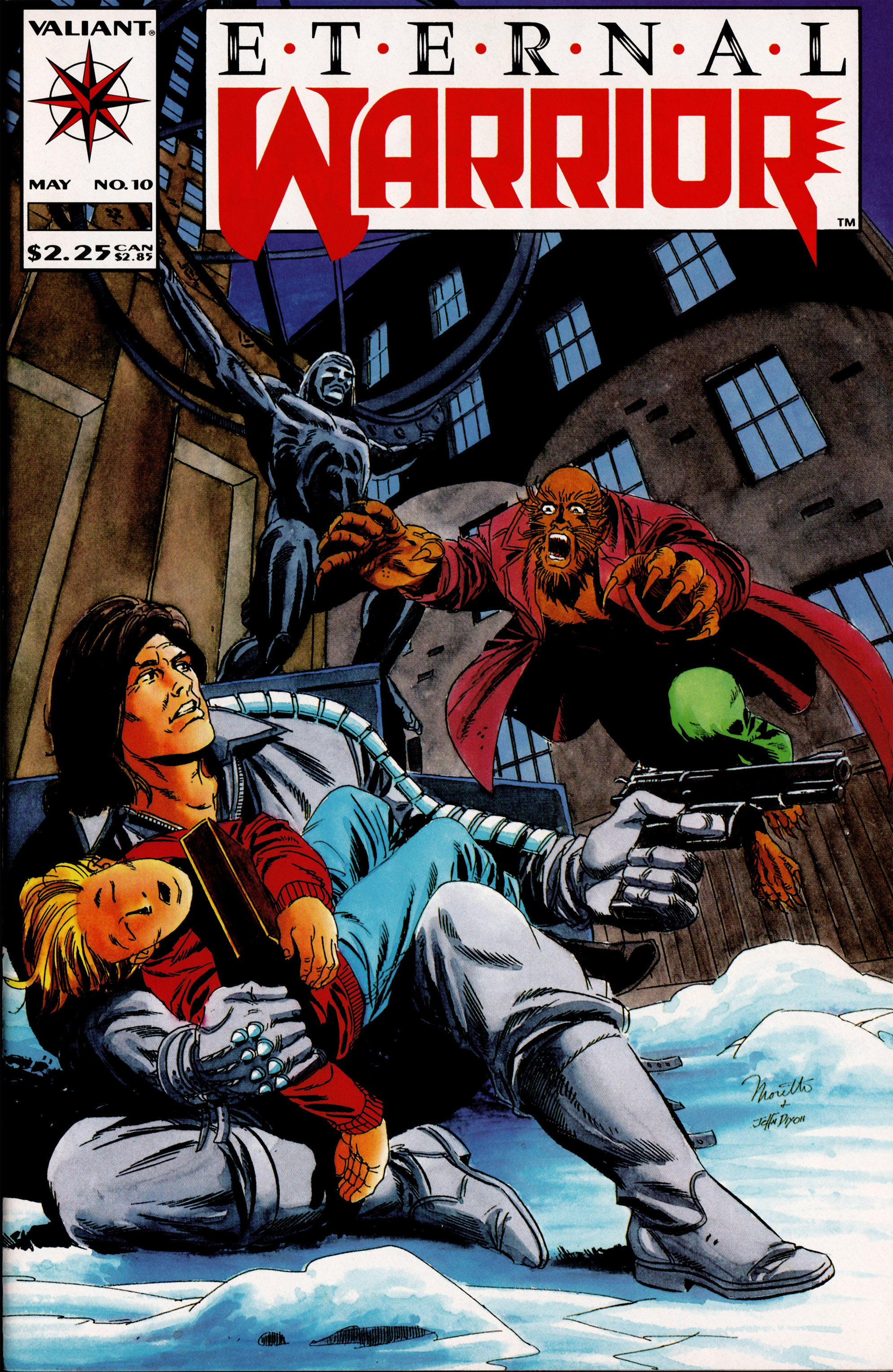 Read online Eternal Warrior (1992) comic -  Issue #10 - 1