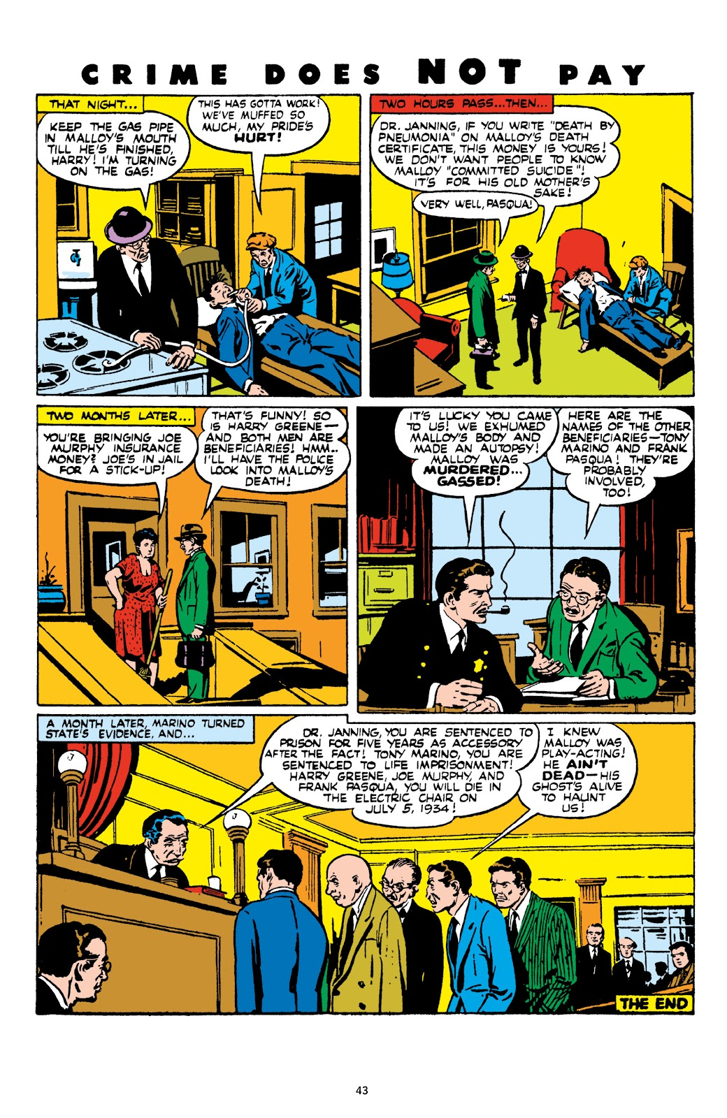 Read online Crime Does Not Pay Archives comic -  Issue # TPB 9 (Part 1) - 45