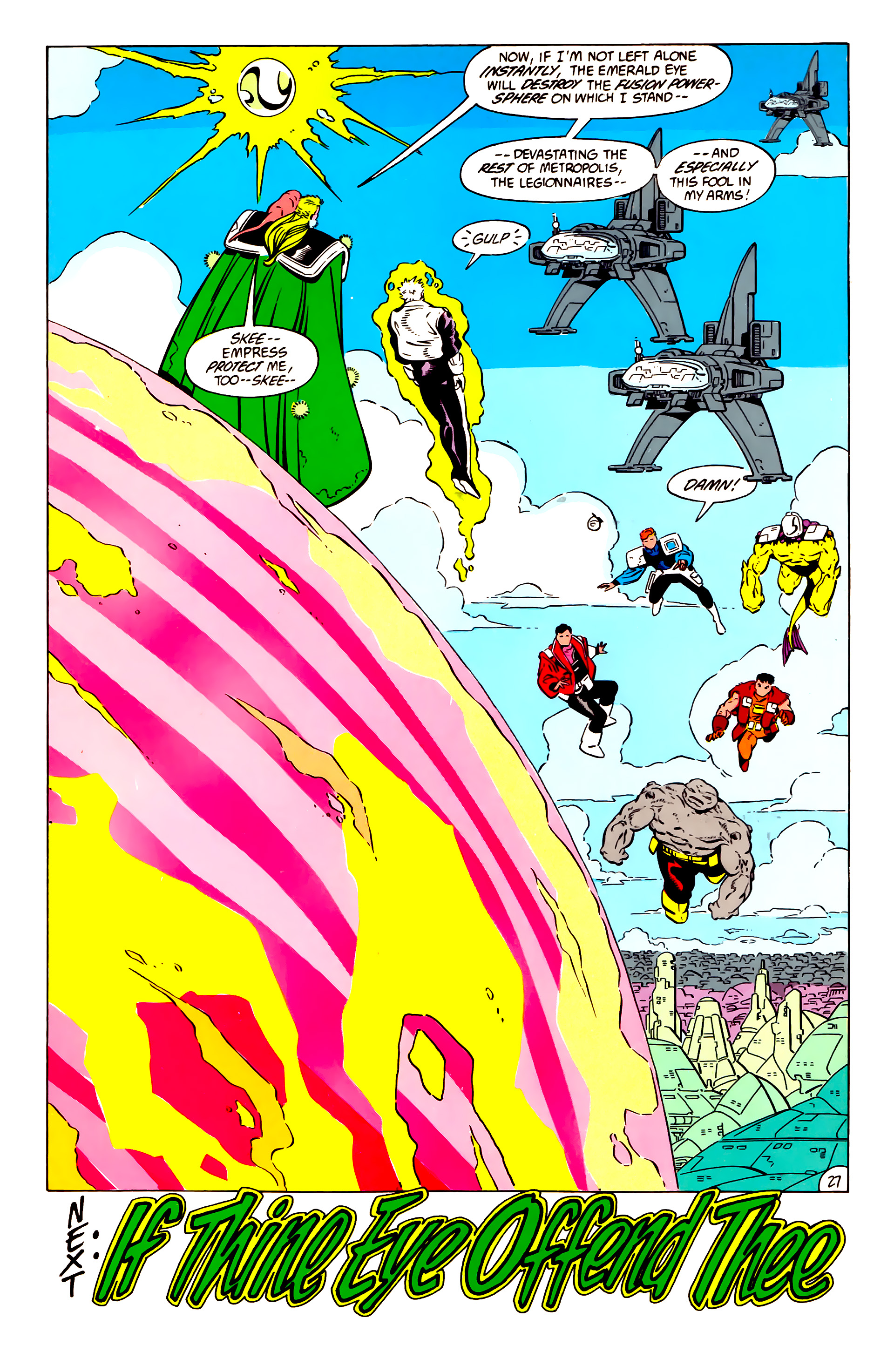 Legion of Super-Heroes (1984) 57 Page 27