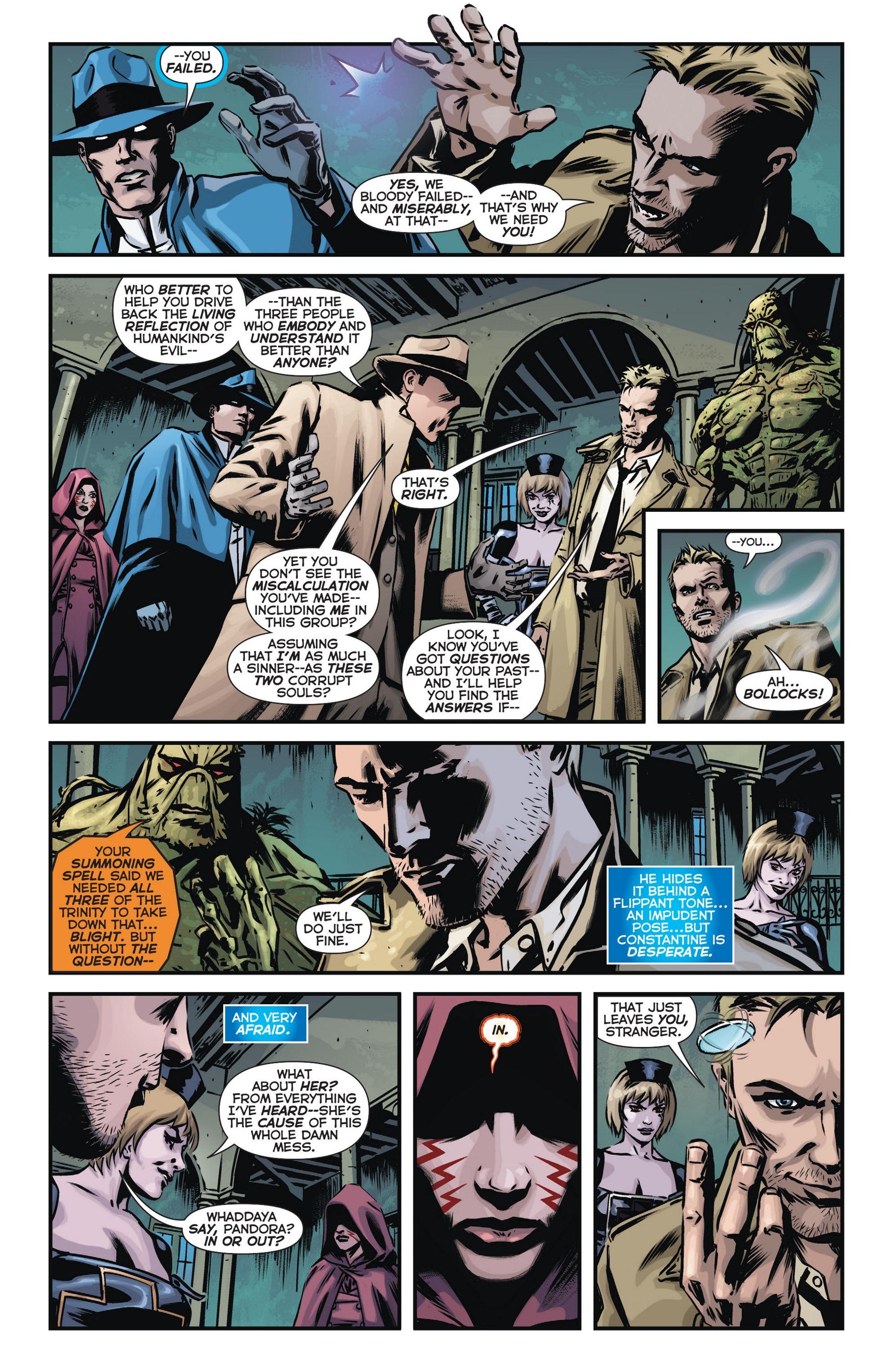 Read online Trinity of Sin: The Phantom Stranger comic -  Issue #14 - 9