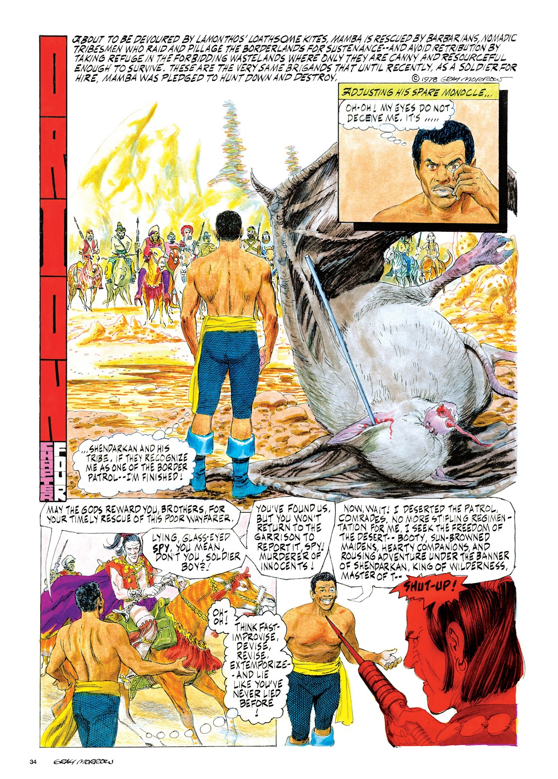 Read online Orion and Edge of Chaos comic -  Issue # TPB - 35