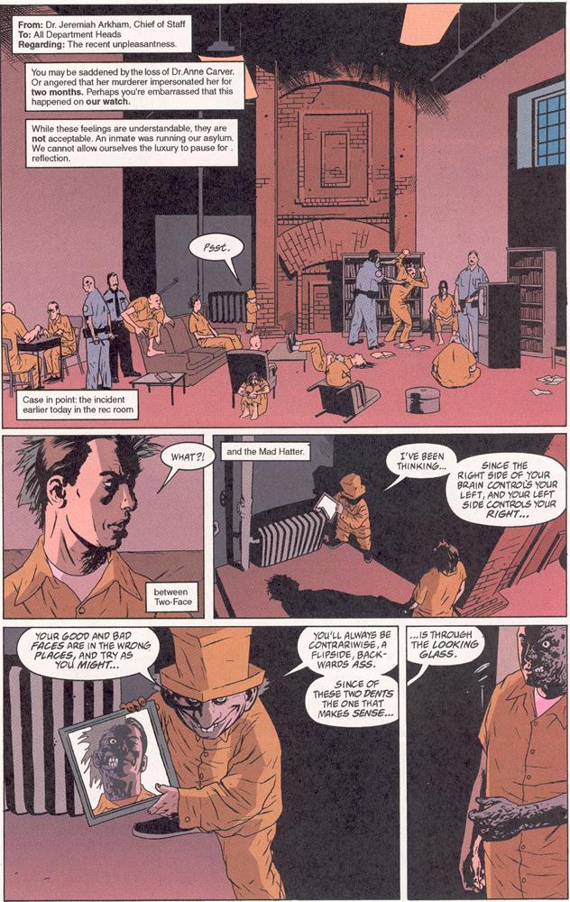 Read online Arkham Asylum: Living Hell comic -  Issue #2 - 2