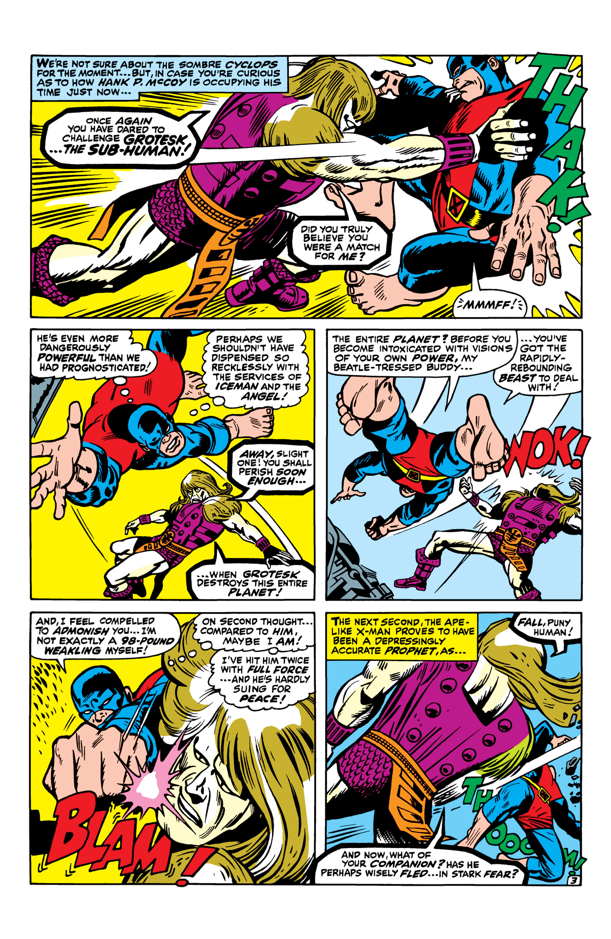 Read online Uncanny X-Men (1963) comic -  Issue #42 - 4