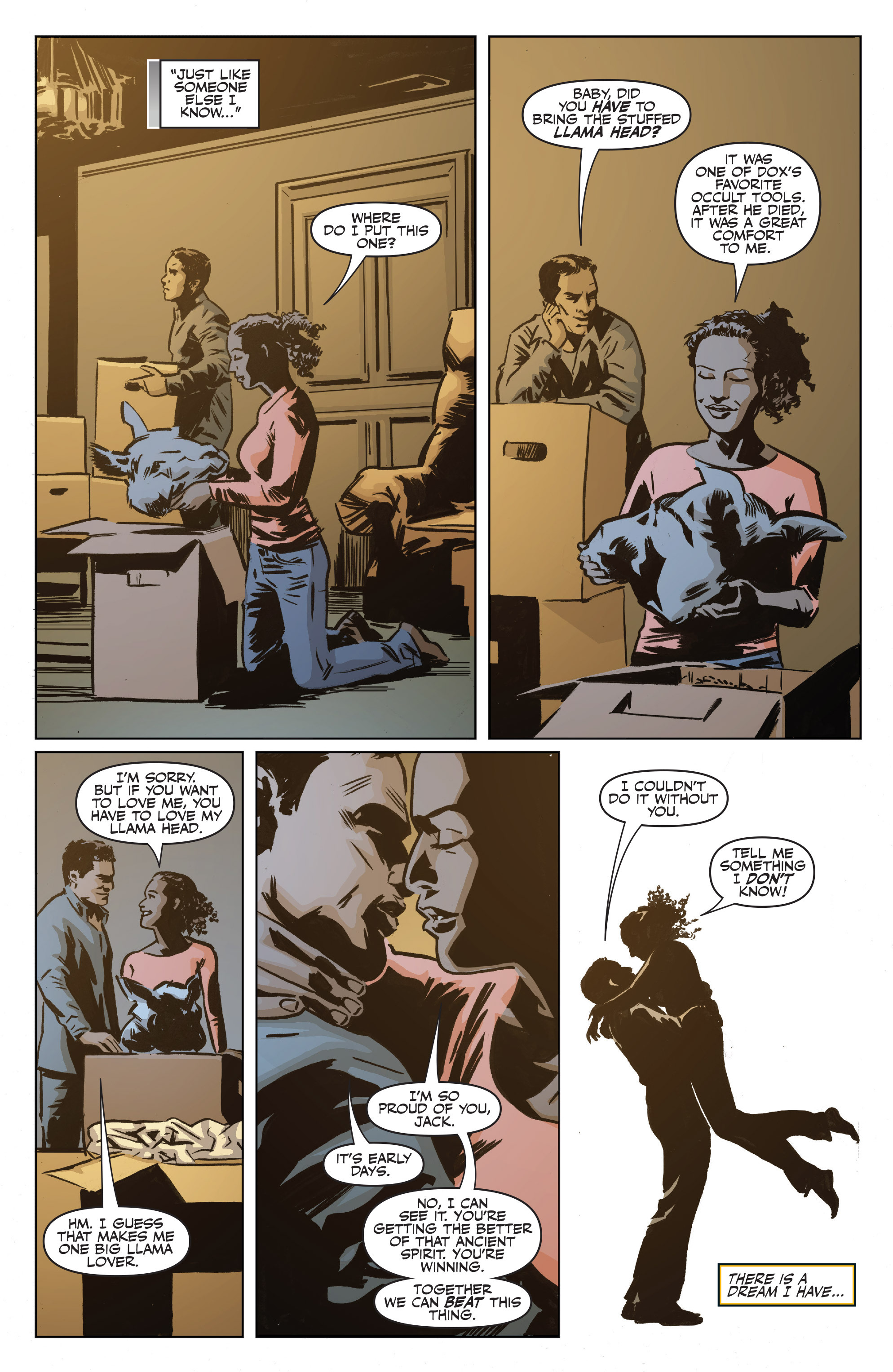 Read online Shadowman: End Times comic -  Issue #1 - 7