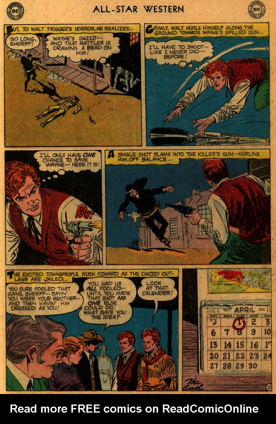 Read online All-Star Western (1951) comic -  Issue #102 - 12