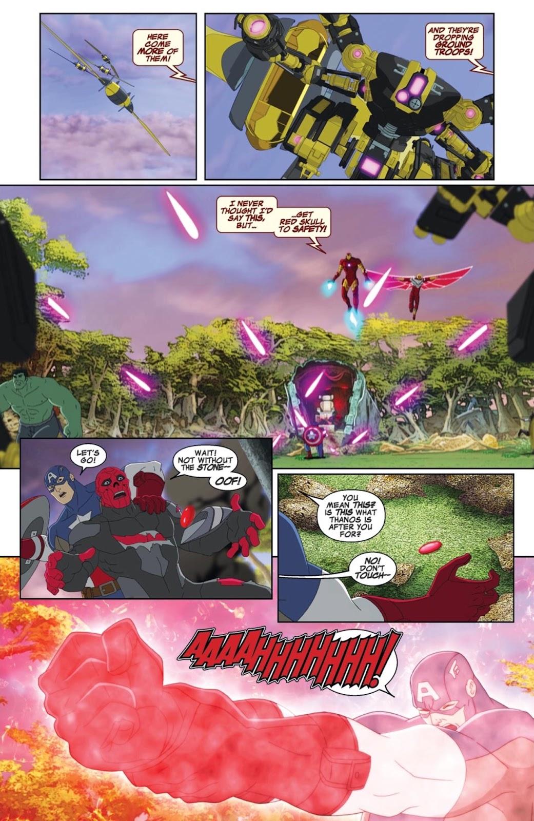 Read online Marvel Universe Avengers Assemble Season 2 comic -  Issue #1 - 8