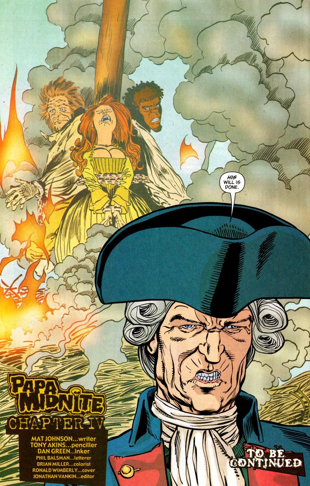 John Constantine - Hellblazer Special: Papa Midnite issue 4 - Page 21