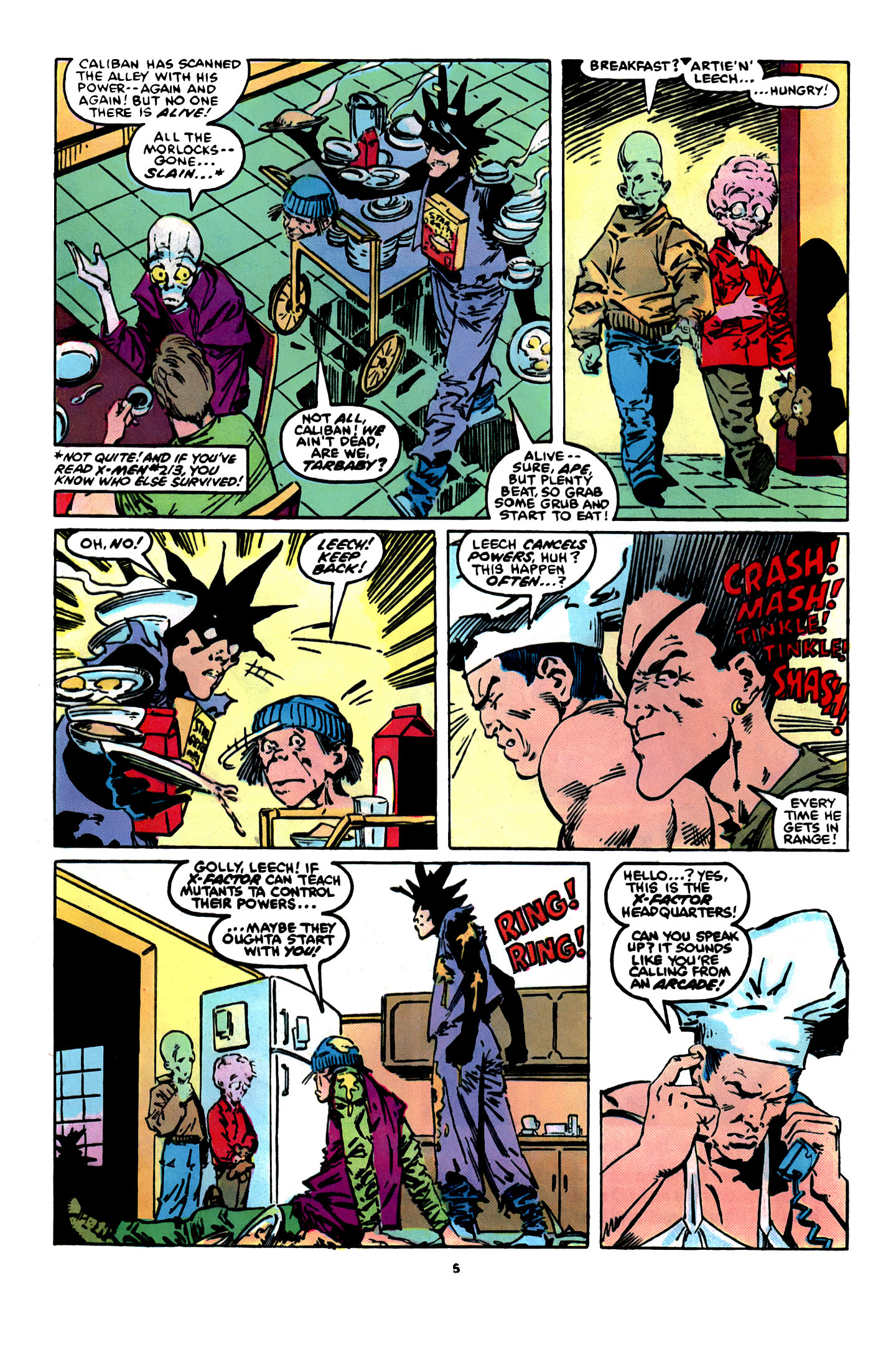 Read online X-Factor (1986) comic -  Issue #12 - 6