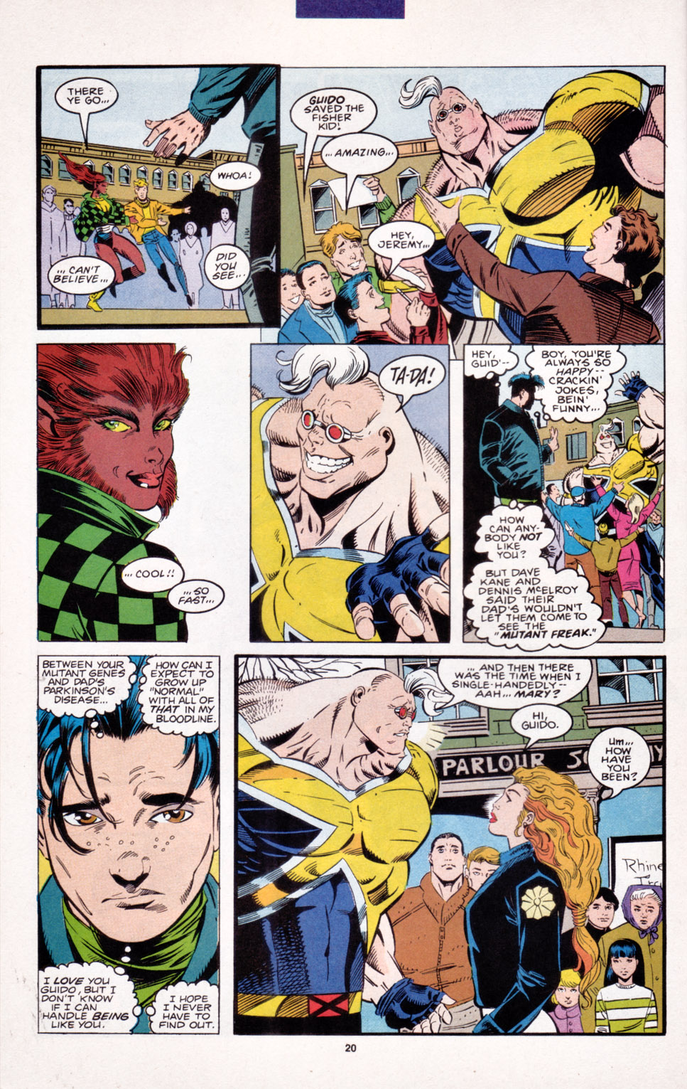 Read online X-Factor (1986) comic -  Issue #103 - 15