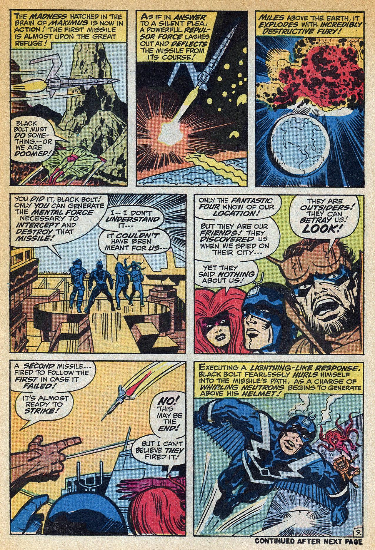 Read online Amazing Adventures (1970) comic -  Issue #1 - 14