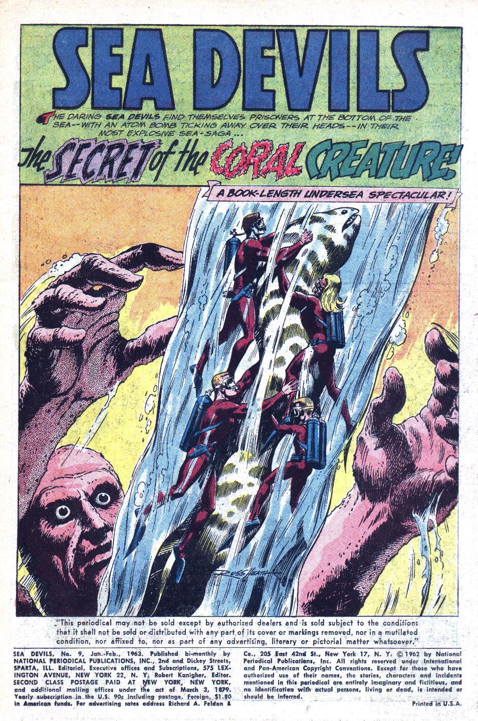 Read online Sea Devils comic -  Issue #9 - 4