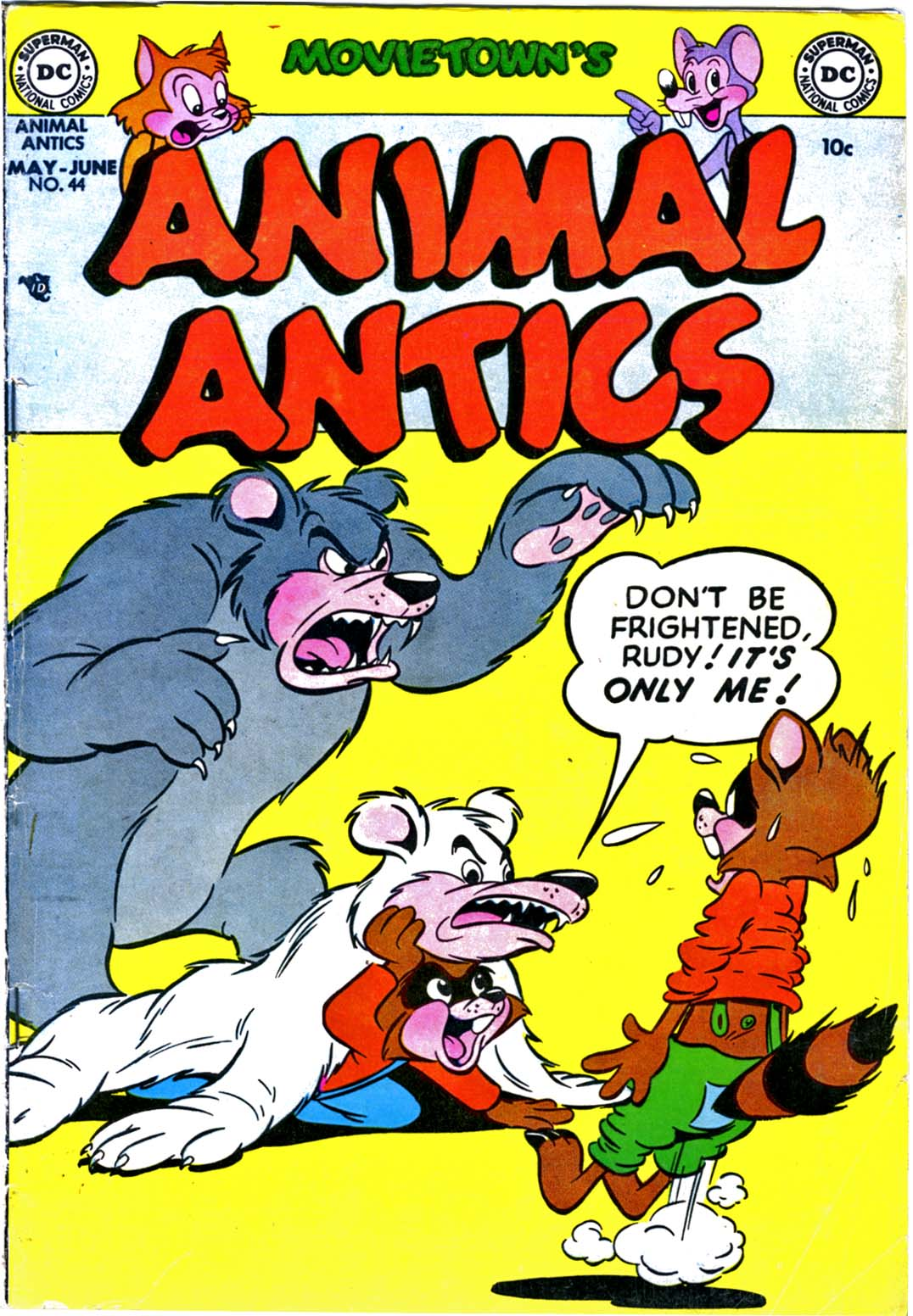 Read online Animal Antics comic -  Issue #44 - 1