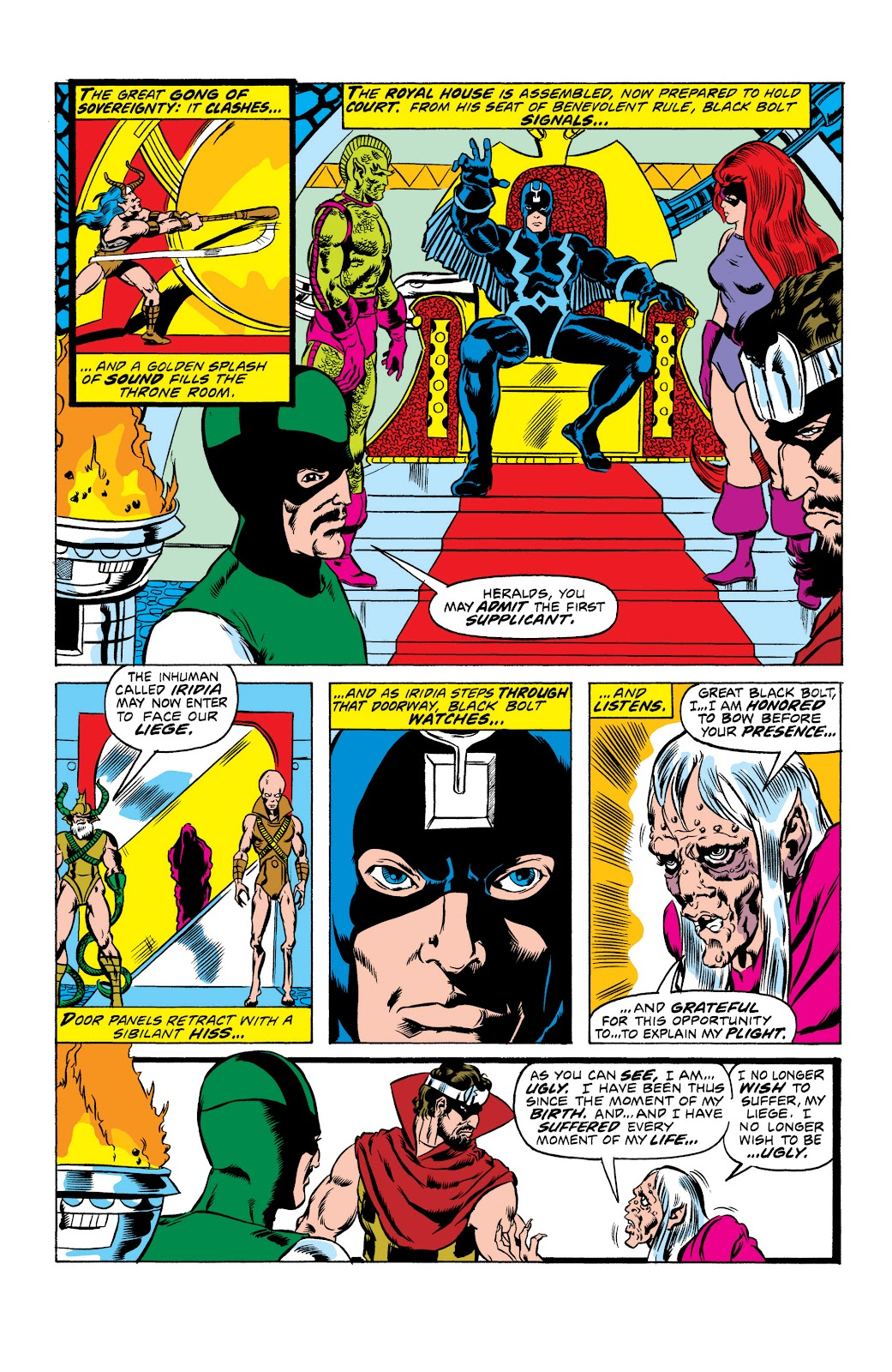 Read online Marvel Masterworks: The Inhumans comic -  Issue # TPB 2 (Part 1) - 11