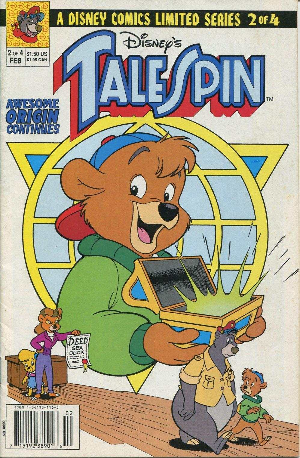 Read online Disney's Tale Spin Limited Series: ''Take Off'' comic -  Issue #2 - 1